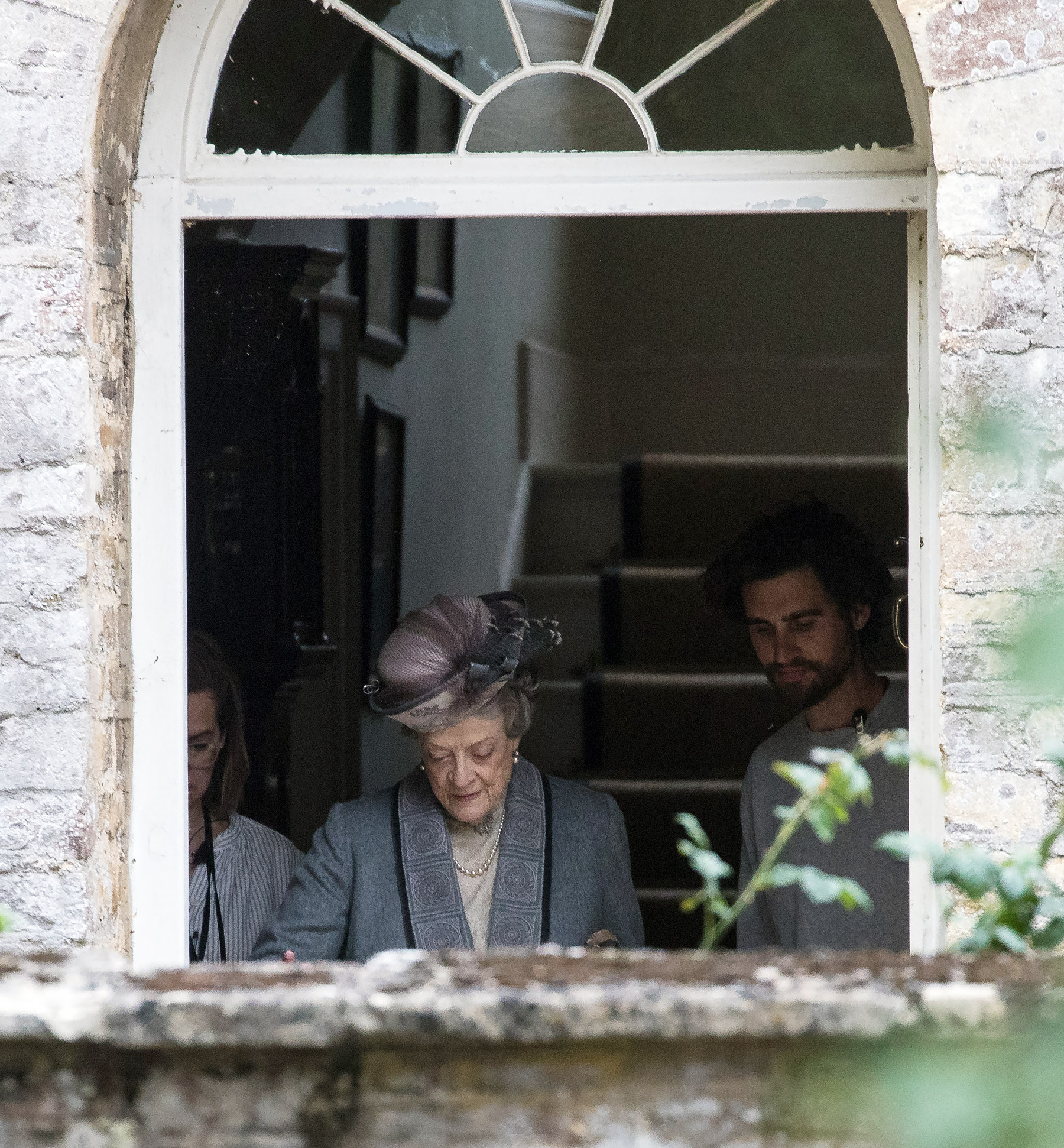 EXCLUSIVE: The Downton Abbey Movie Filming At Bampton