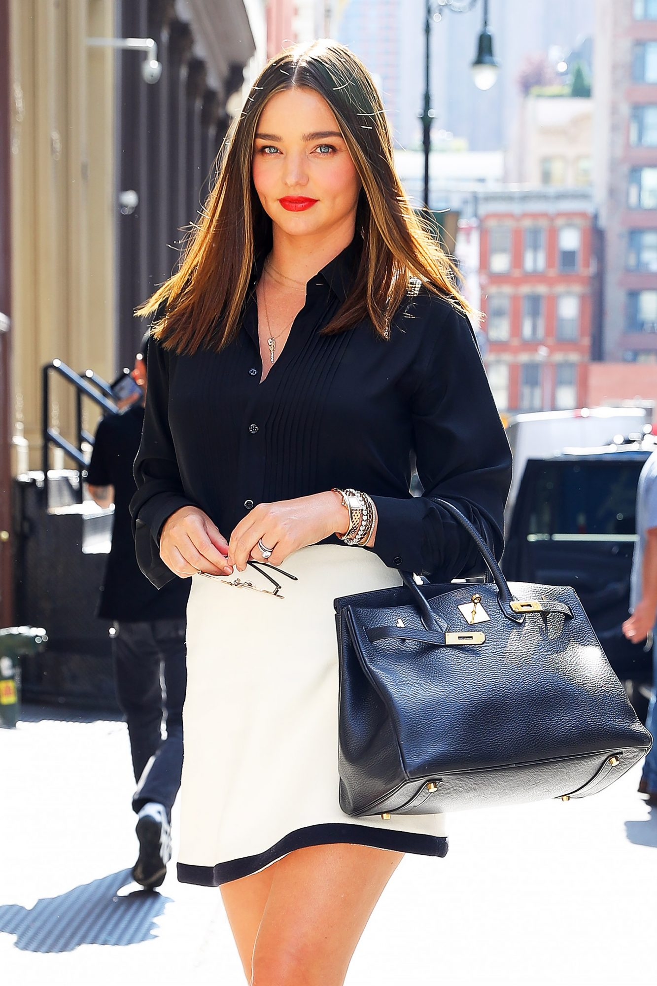 EXCLUSIVE: Miranda Kerr steps out in New York City, Post Baby