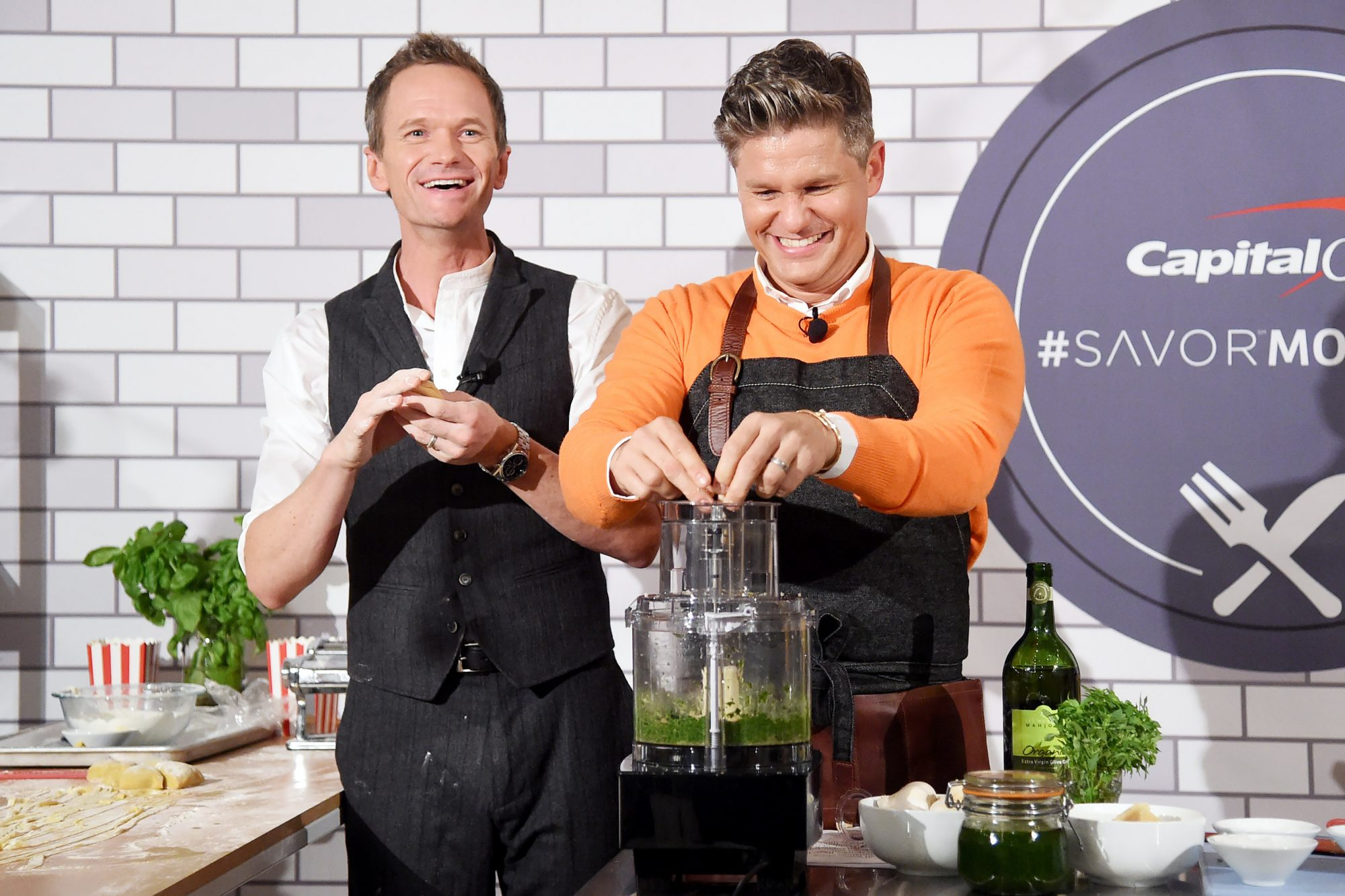 Capital One Celebrates The Launch Of The New Savor Credit Card With Neil Patrick Harris And David Burtka