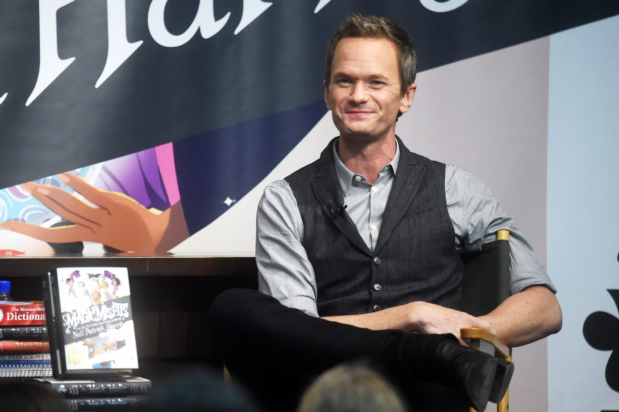 """Neil Patrick Harris Discusses His New Book """"The Magic Misfits: The Second Story"""""""