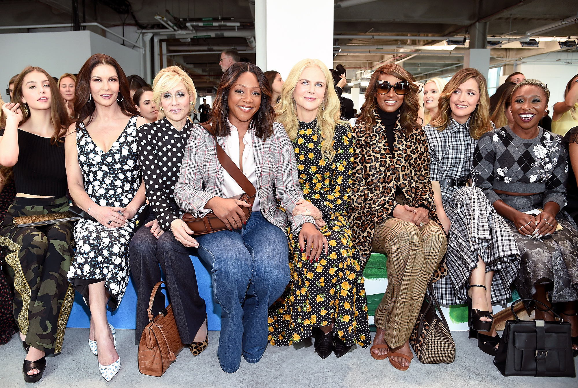 Michael Kors Collection Spring 2019 Runway Show - Front Row