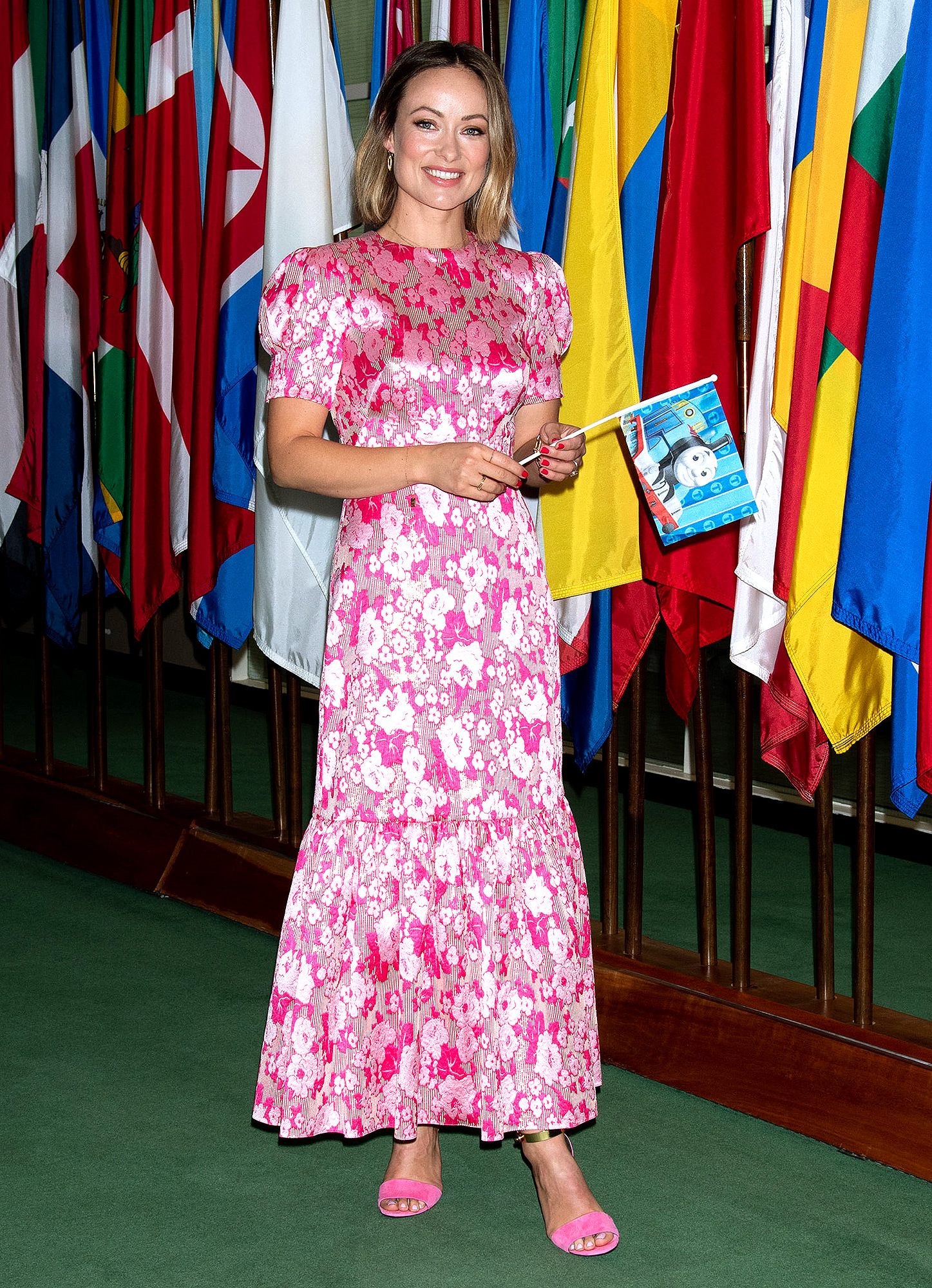 Olivia Wilde Supports the Launch of Thomas & Friends and United Nations