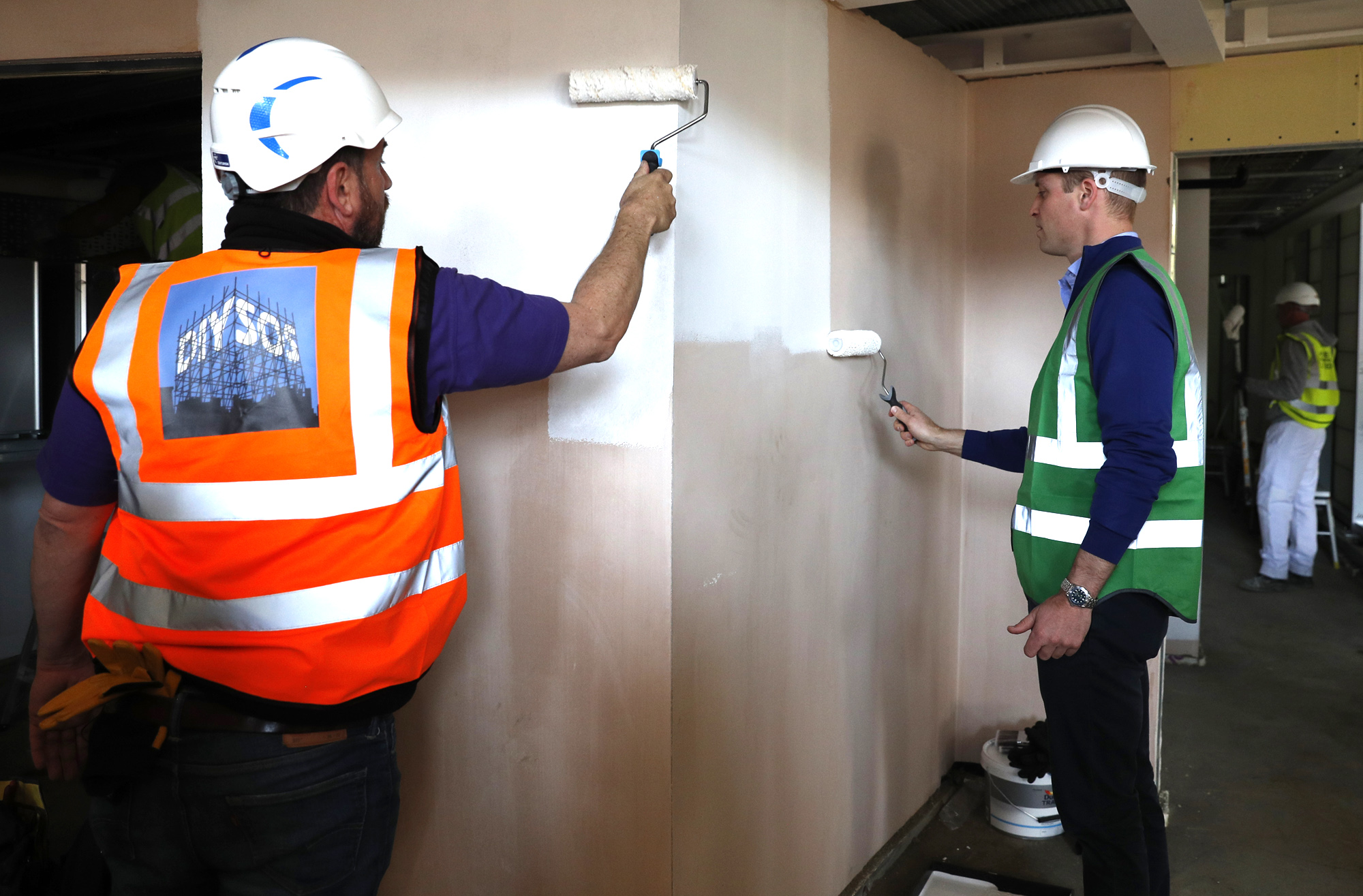The Duke Of Cambridge Joins Crew Of DIY SOS For Grenfell Special