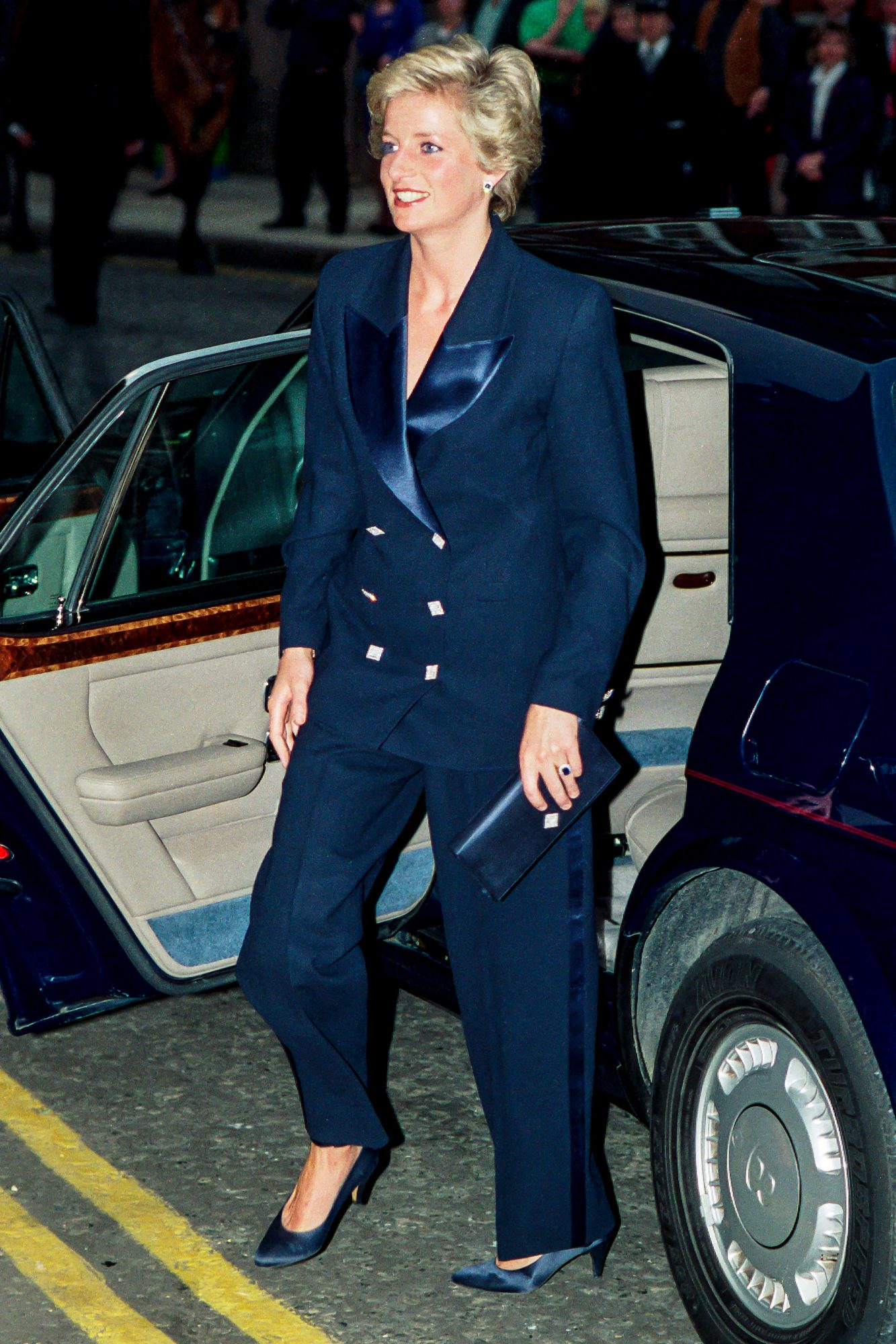 Diana, Princess of Wales attends a Charity Concert