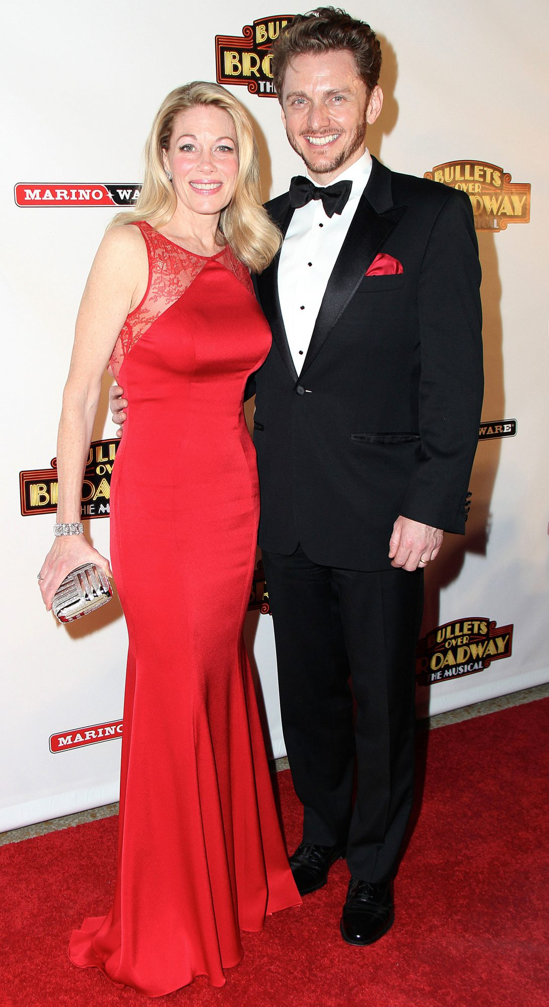 'Bullets Over Broadway' play opening night, New York, America - 10 Apr 2014