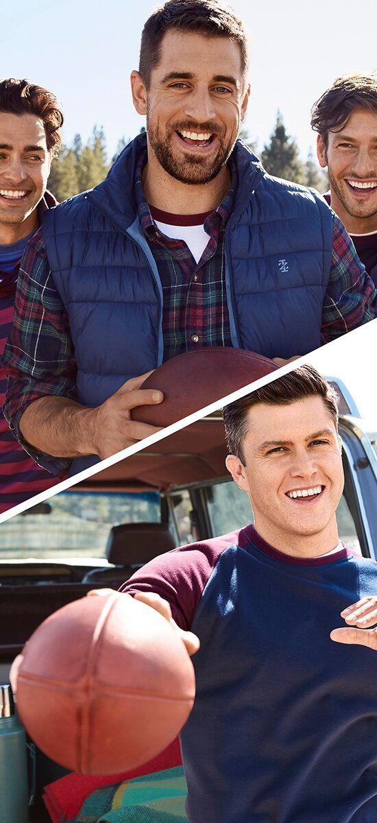 Aaron Rodgers And Colin Jost Star In Izod S Fall 2018 Commercial People Com