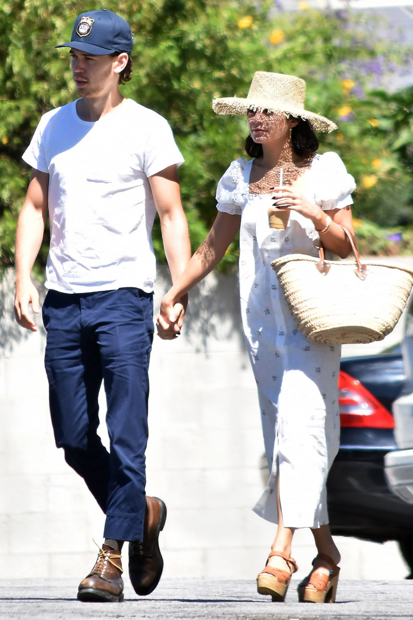 Vanessa Hudgens And Austin Butler Out And About In Los Angeles