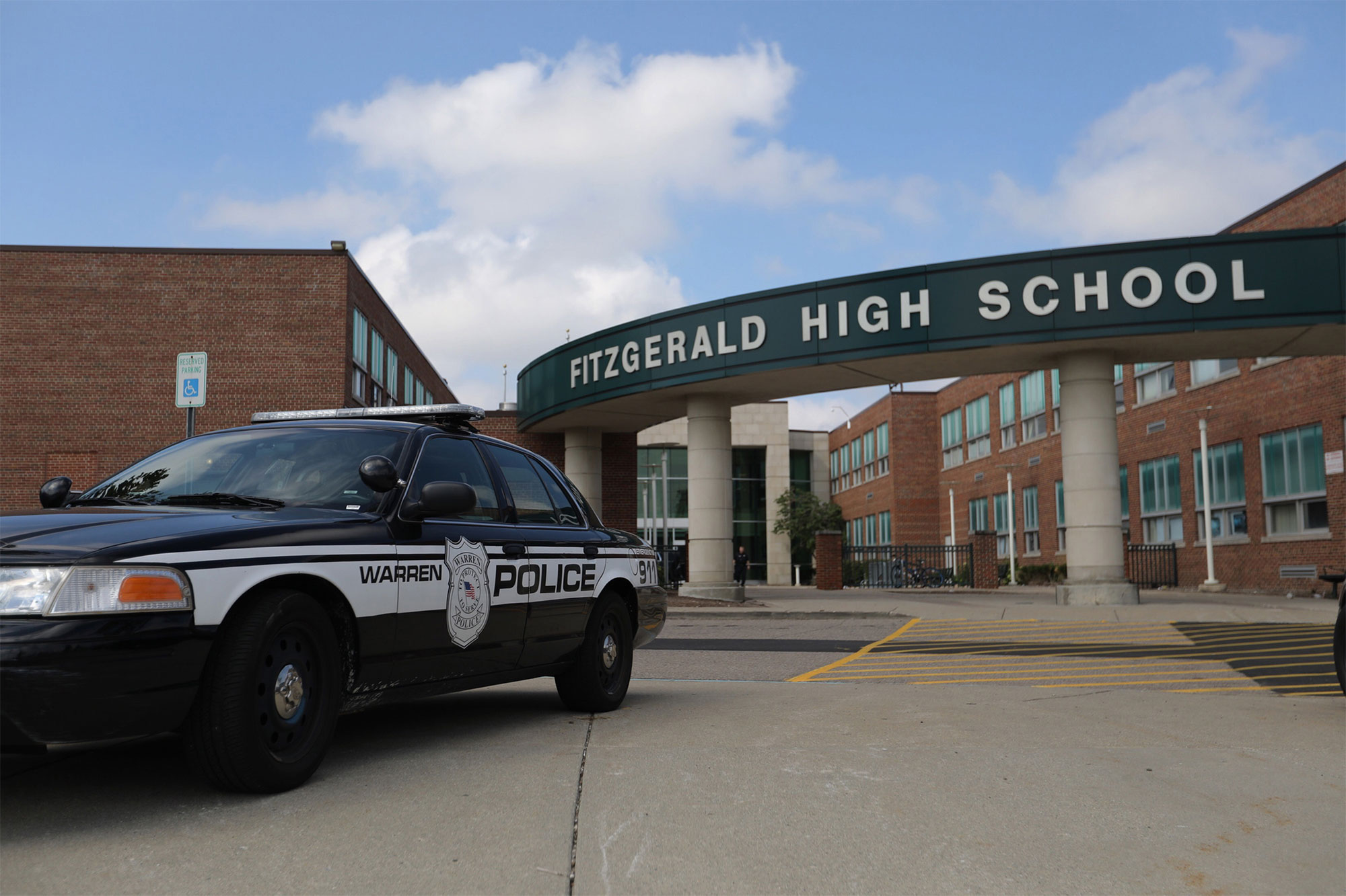 Girl, 16, dies after stabbing at Michigan high school