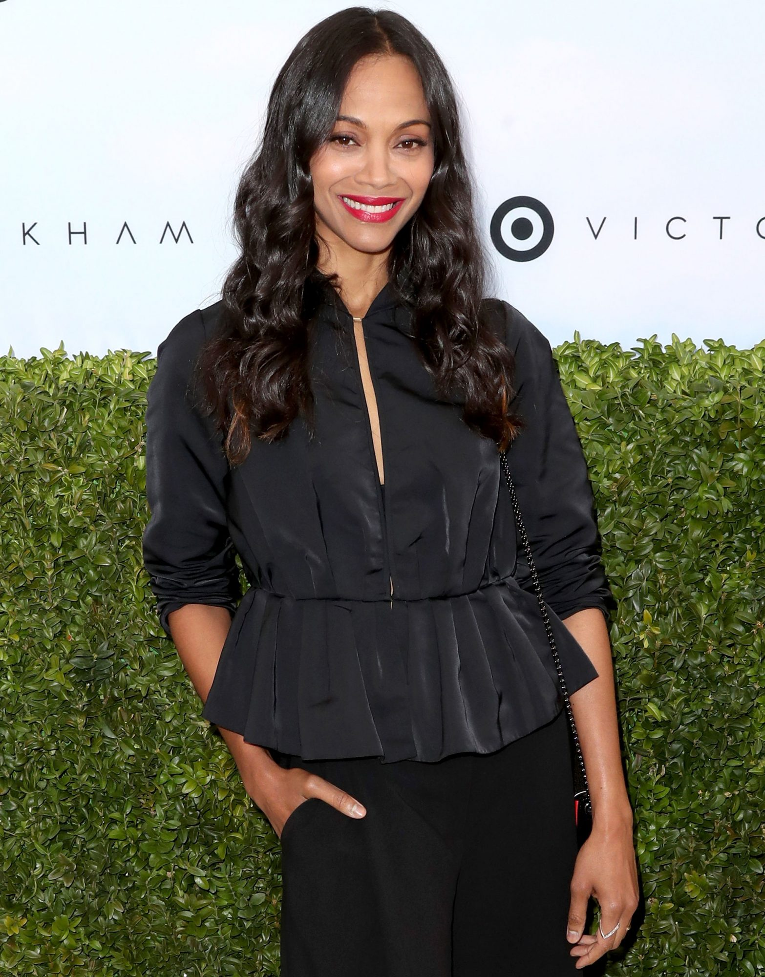 ZOE SALDANA: GET A BOOST IF YOU'RE A GIRL ON TOP