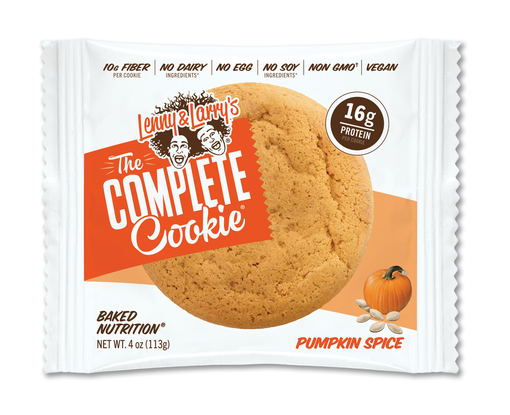 LENNY AND LARRY'S PUMPKIN SPICE THE COMPLETE COOKIE