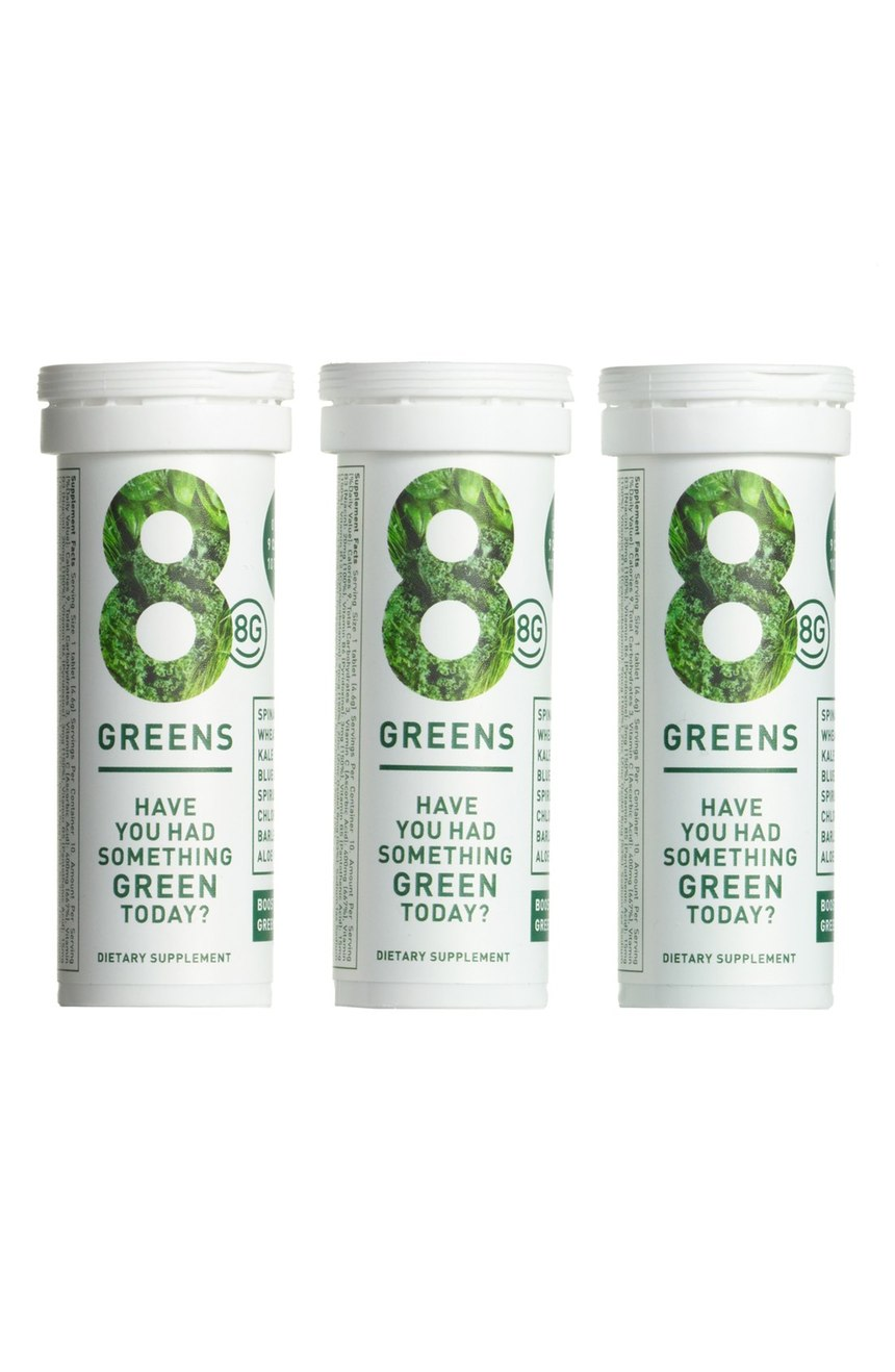 8G Essential Greens Boster Trio