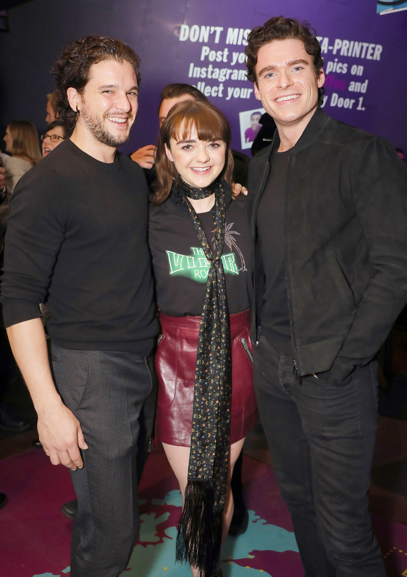 BESTPIX - Press Night Of 'I And You' At Hampstead Theatre With Lead Actor Maisie Williams Wearing Coach