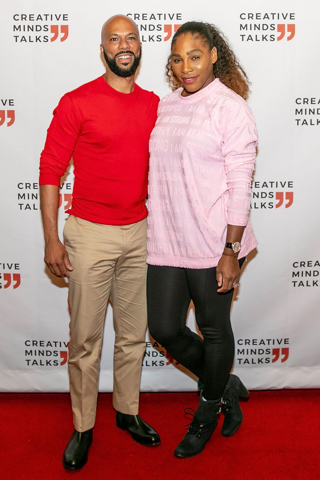 Creative Minds Talks Presents a Conversation Between Athlete, Entrepreneur, And Philanthropist, Serena Williams And Award-Winning Artist, Actor, And Activist COMMON