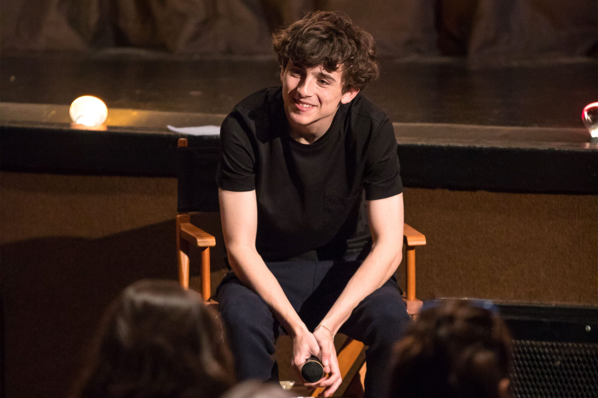 Timothee Chalamet, Beautiful Boy Star Visits Cities for Addiction