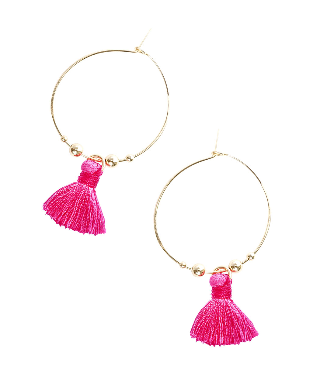 April Soderstrom Featherweight Tassel Hoops
