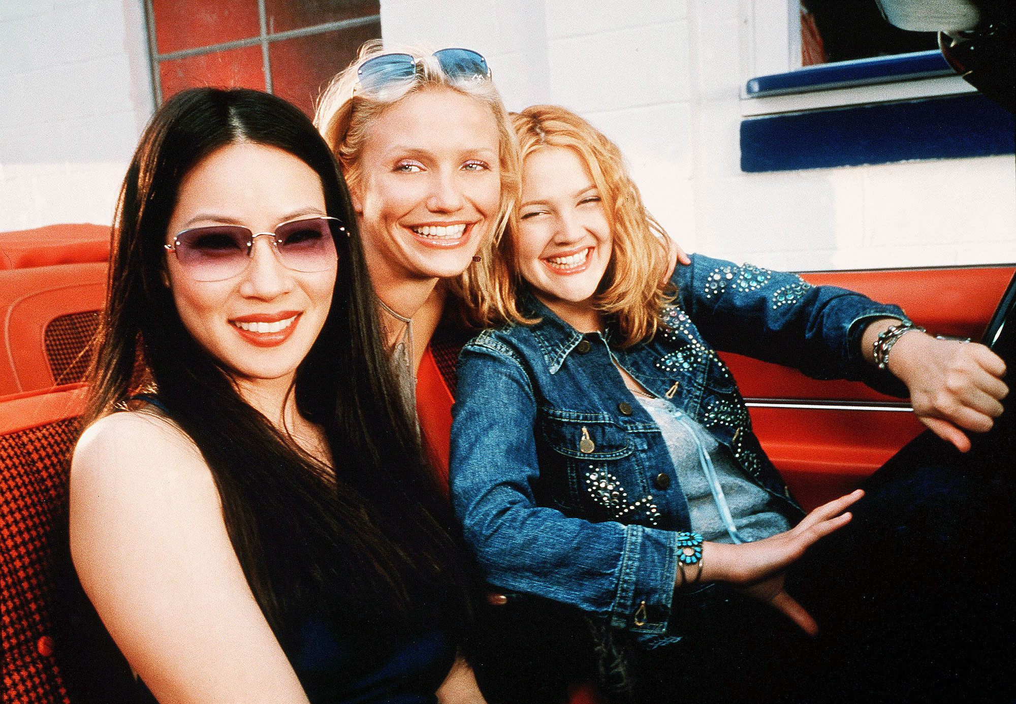 LUCY LIU ON CHARLIE'S ANGELS