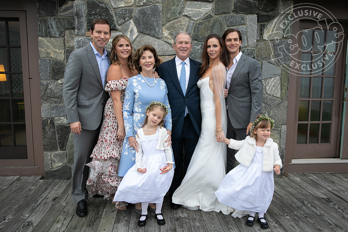 Barbara Bush and Craig Coyne wedding on October 7, 2018. Photo by Paul Morse