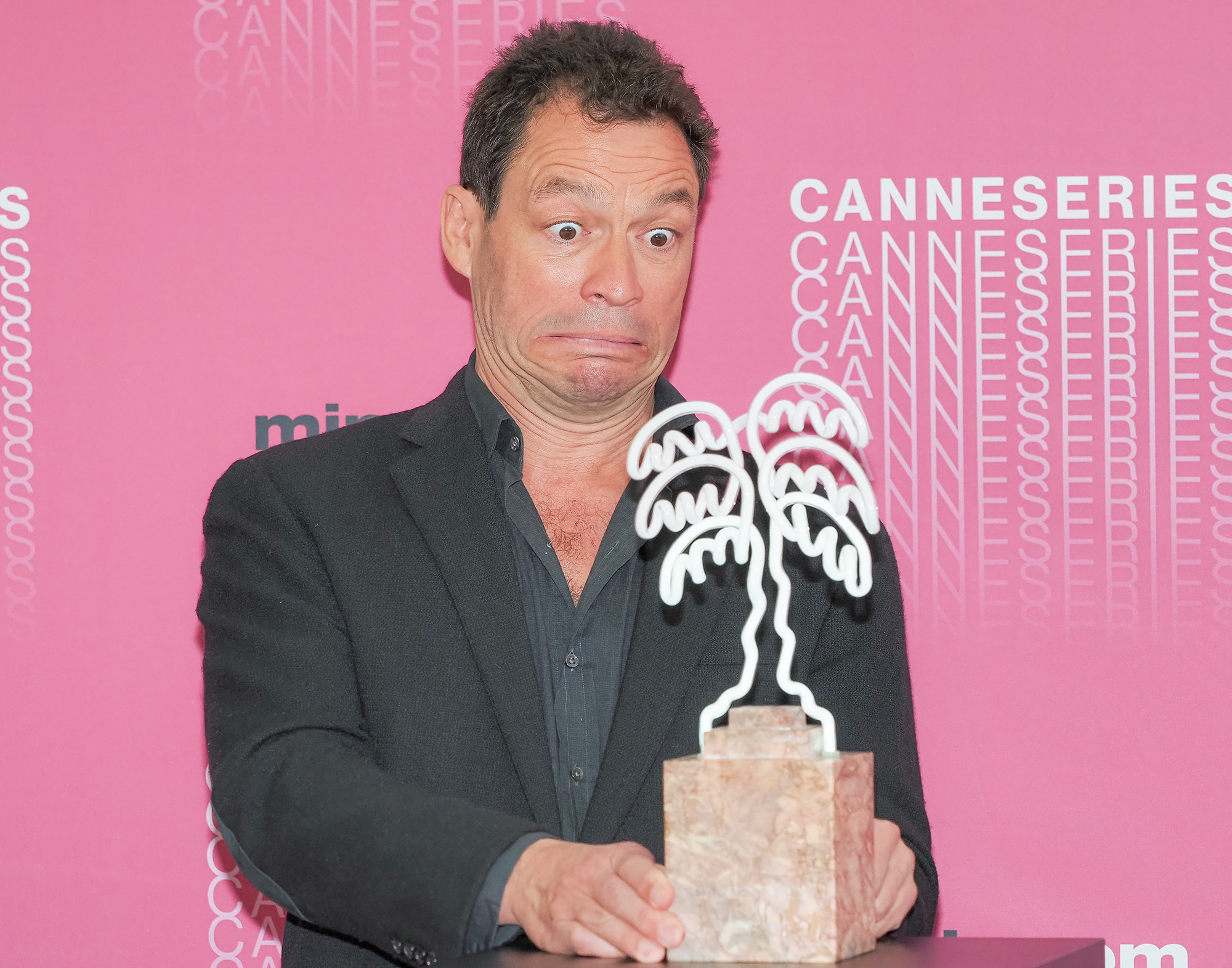 Dominic West Receives CannesSeries Excellence Award At the MIPCOM 2018