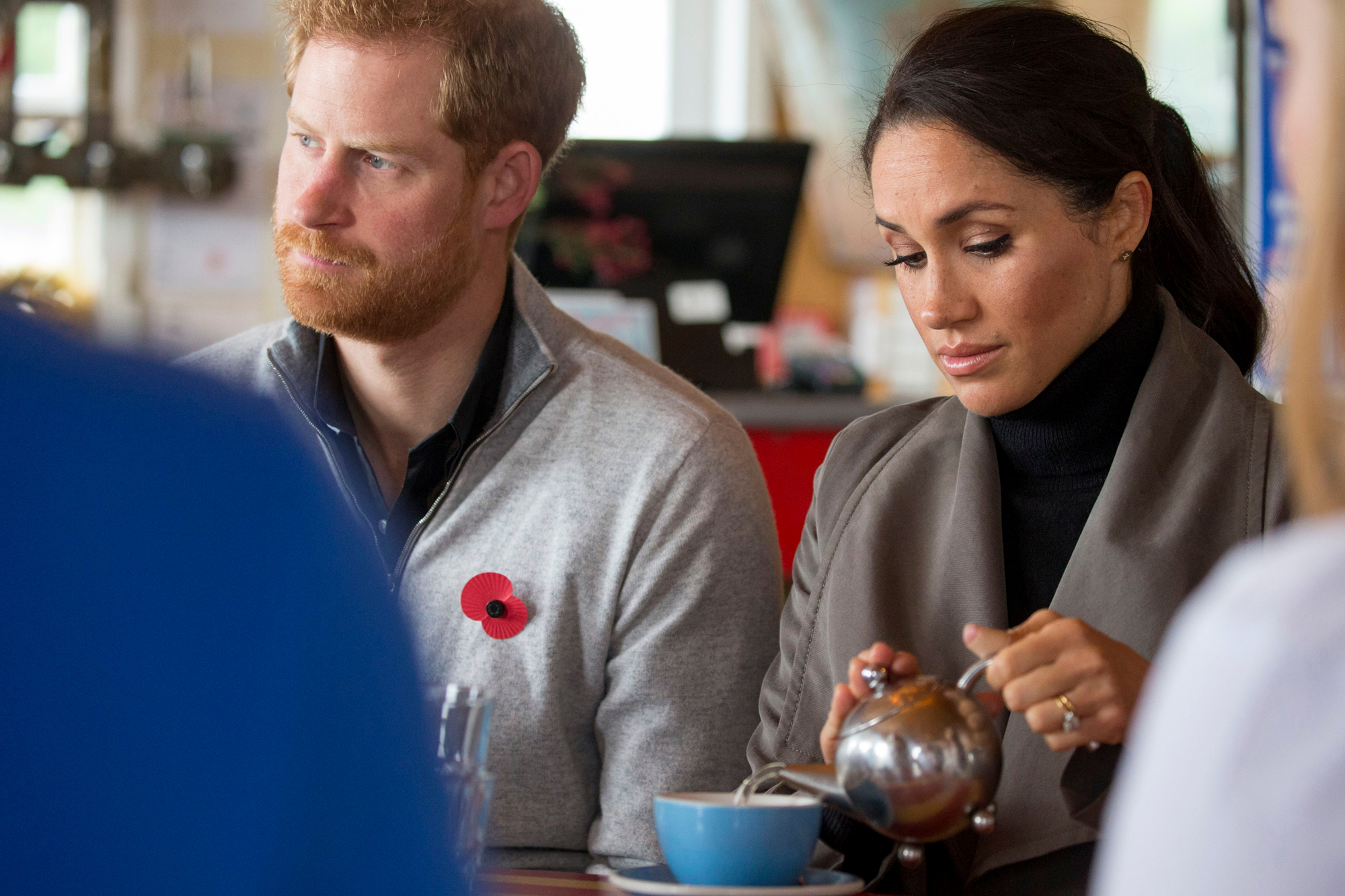Prince Harry and Meghan Duchess of Sussex Royal Tour of New Zealand - 29 Oct 2018