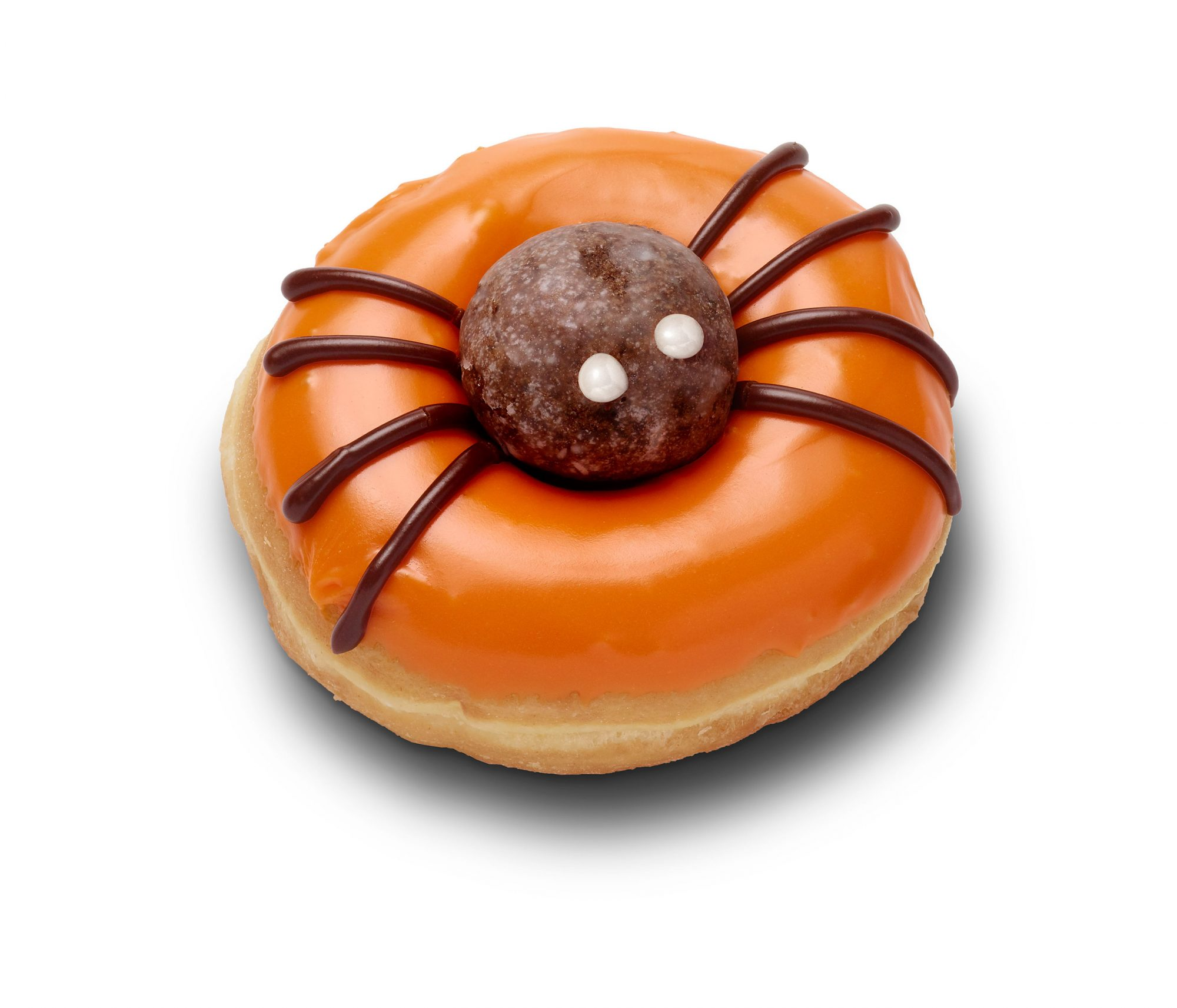 Halloween Spider Donut (October - 2018) (image + transparency)