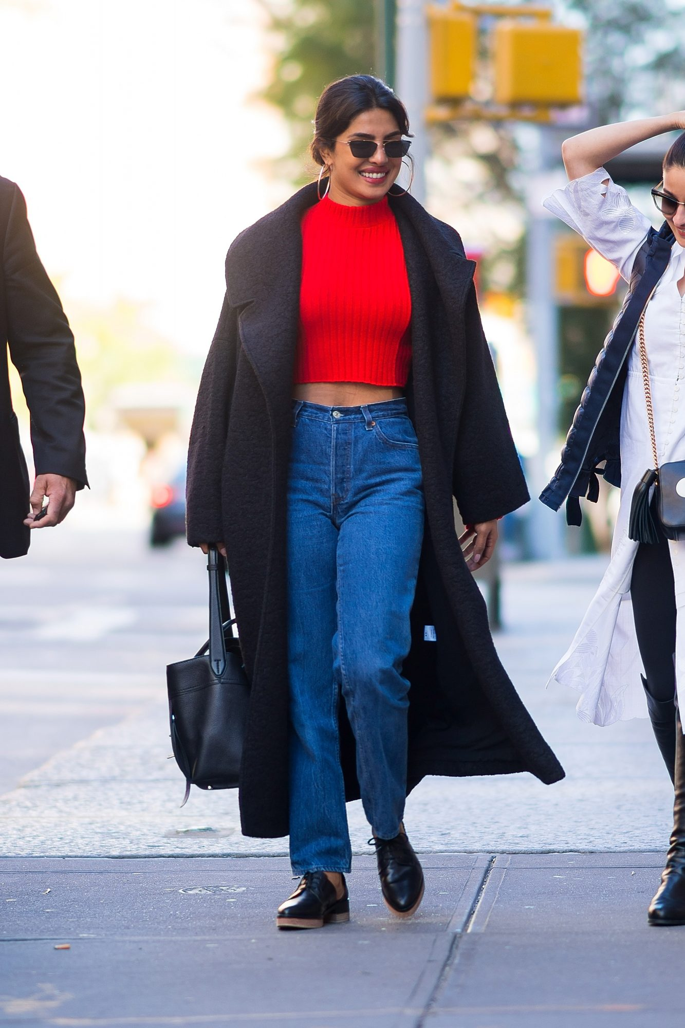 Celebrity Sightings in New York City - October 17, 2018