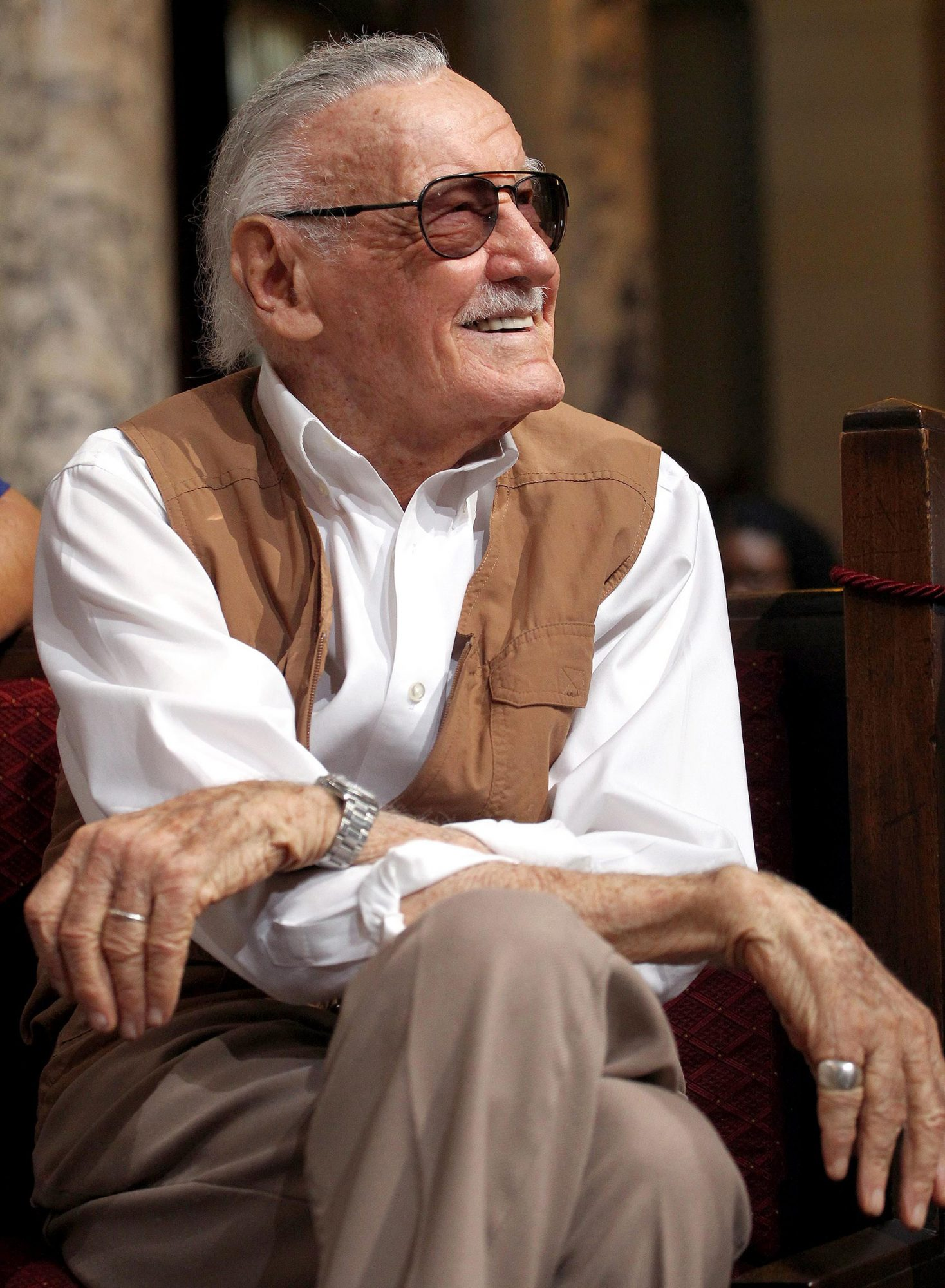 Los Angeles City Hall Commemorates Friday October 28 As Stan Lee Day