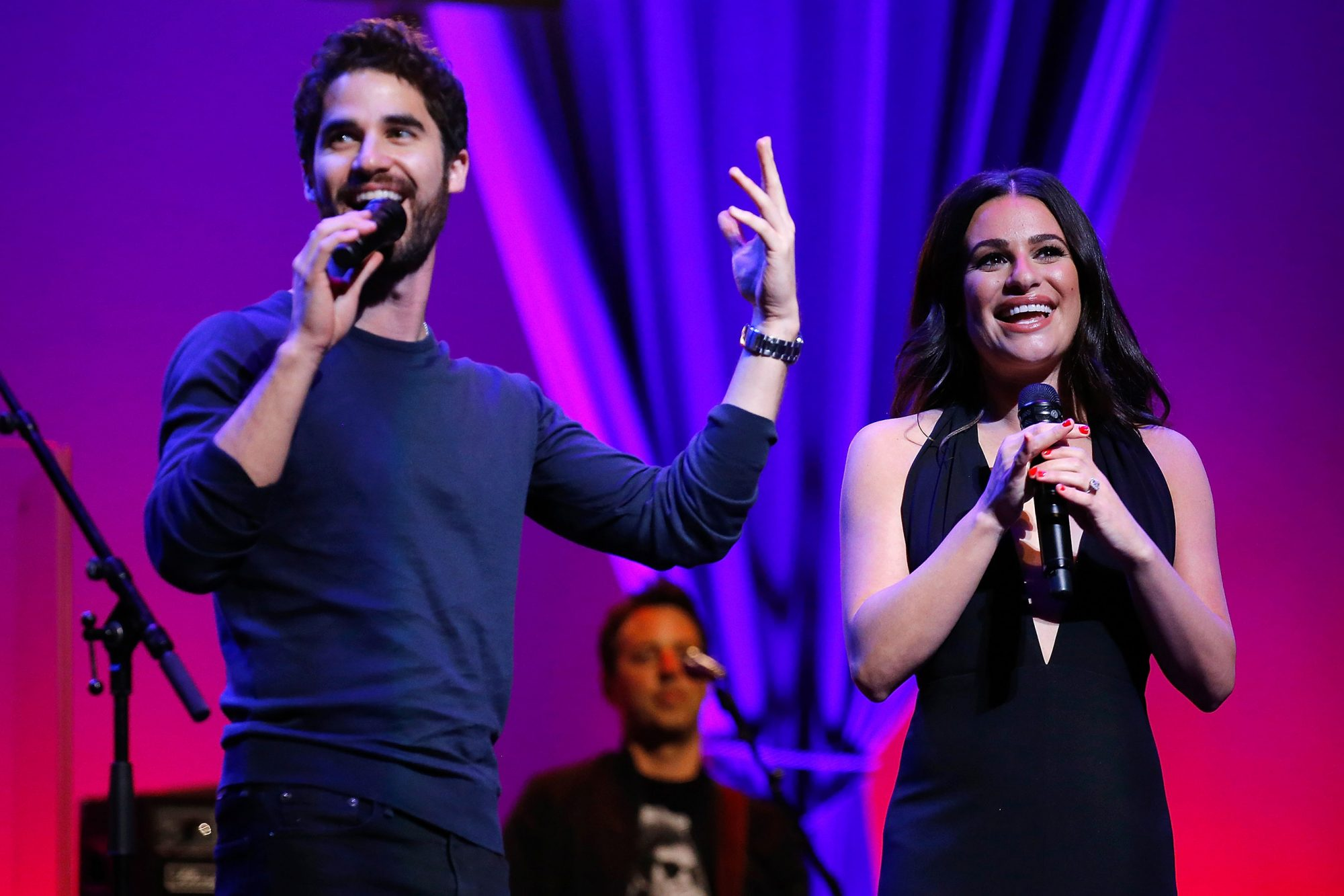 Lea Michele & Darren Criss In Concert - Newark, New Jersey