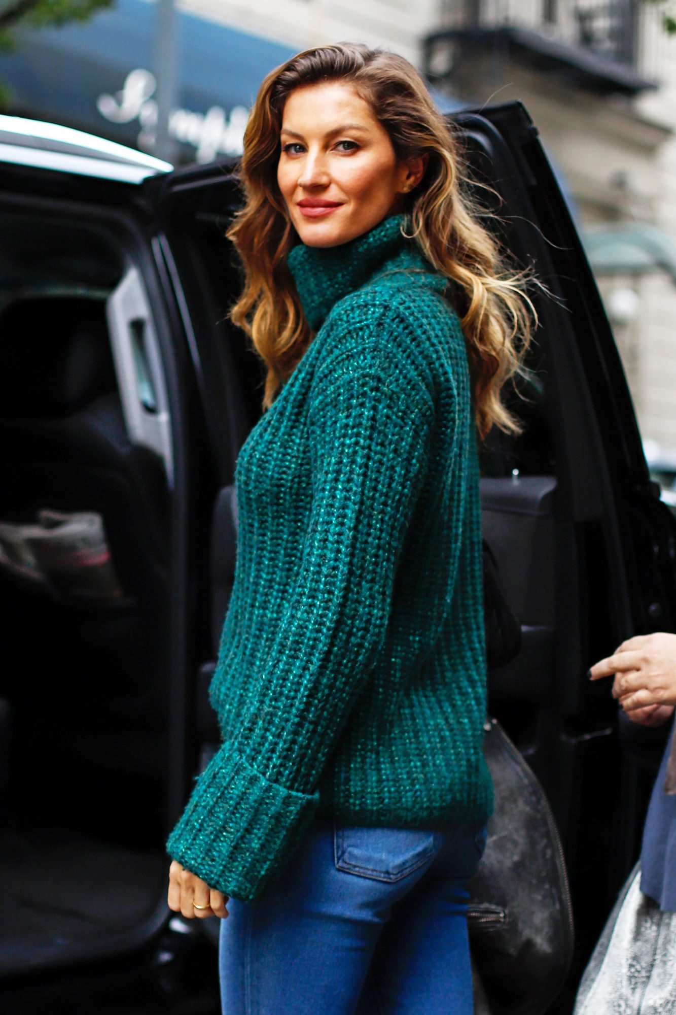 Gisele Bundchen out and about, New York, USA - 22 Oct 2018