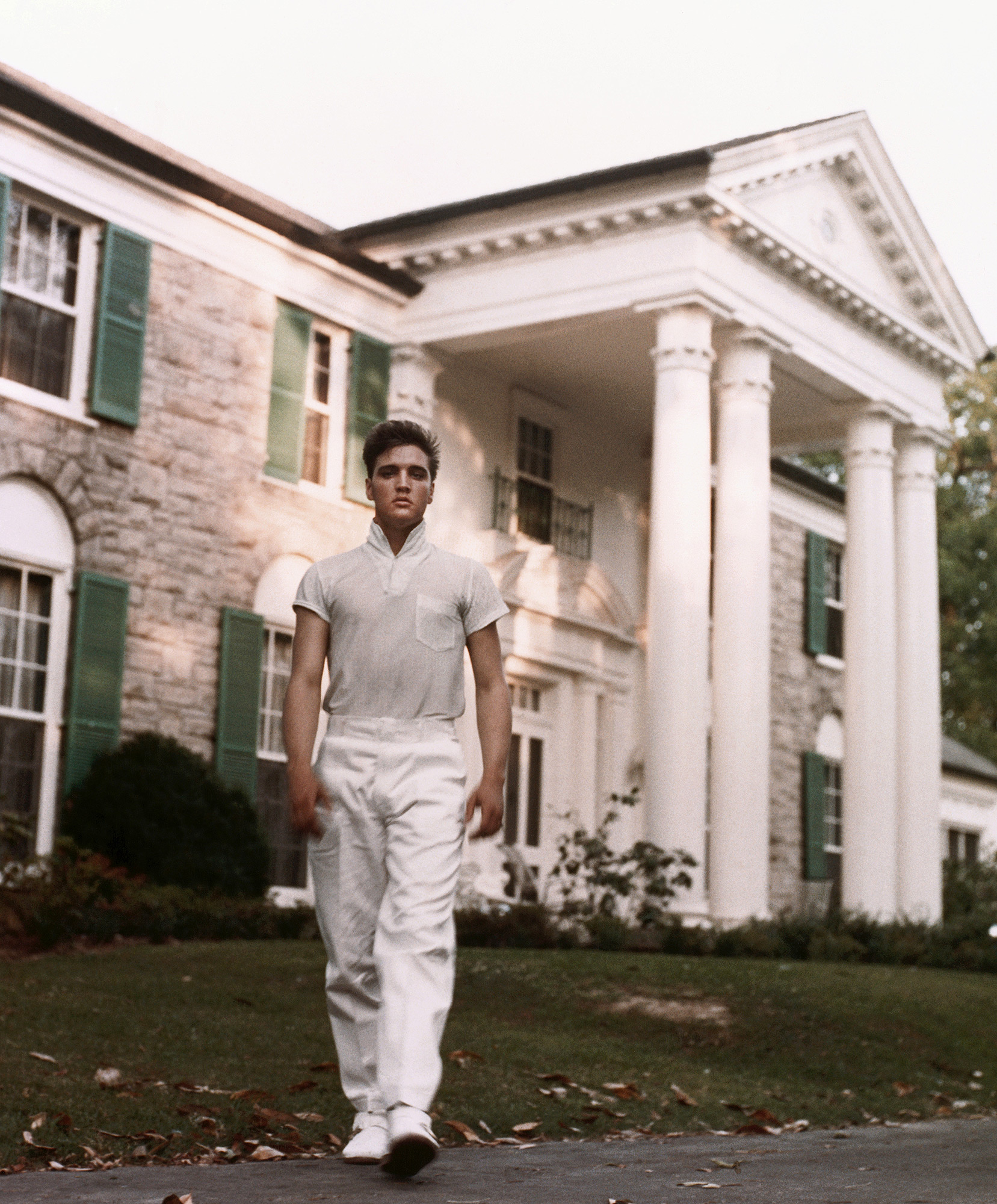 Elvis Presley at Graceland