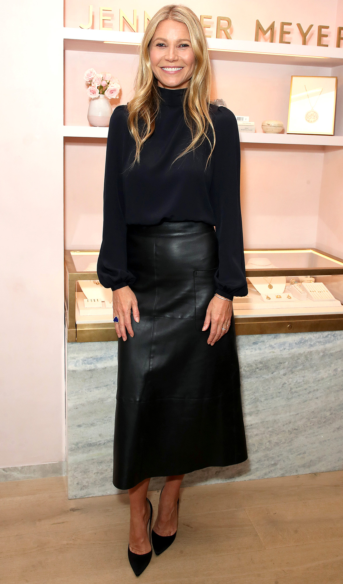 Jennifer Meyer Boutique opening party, Los Angeles, USA - 17 Oct 2018