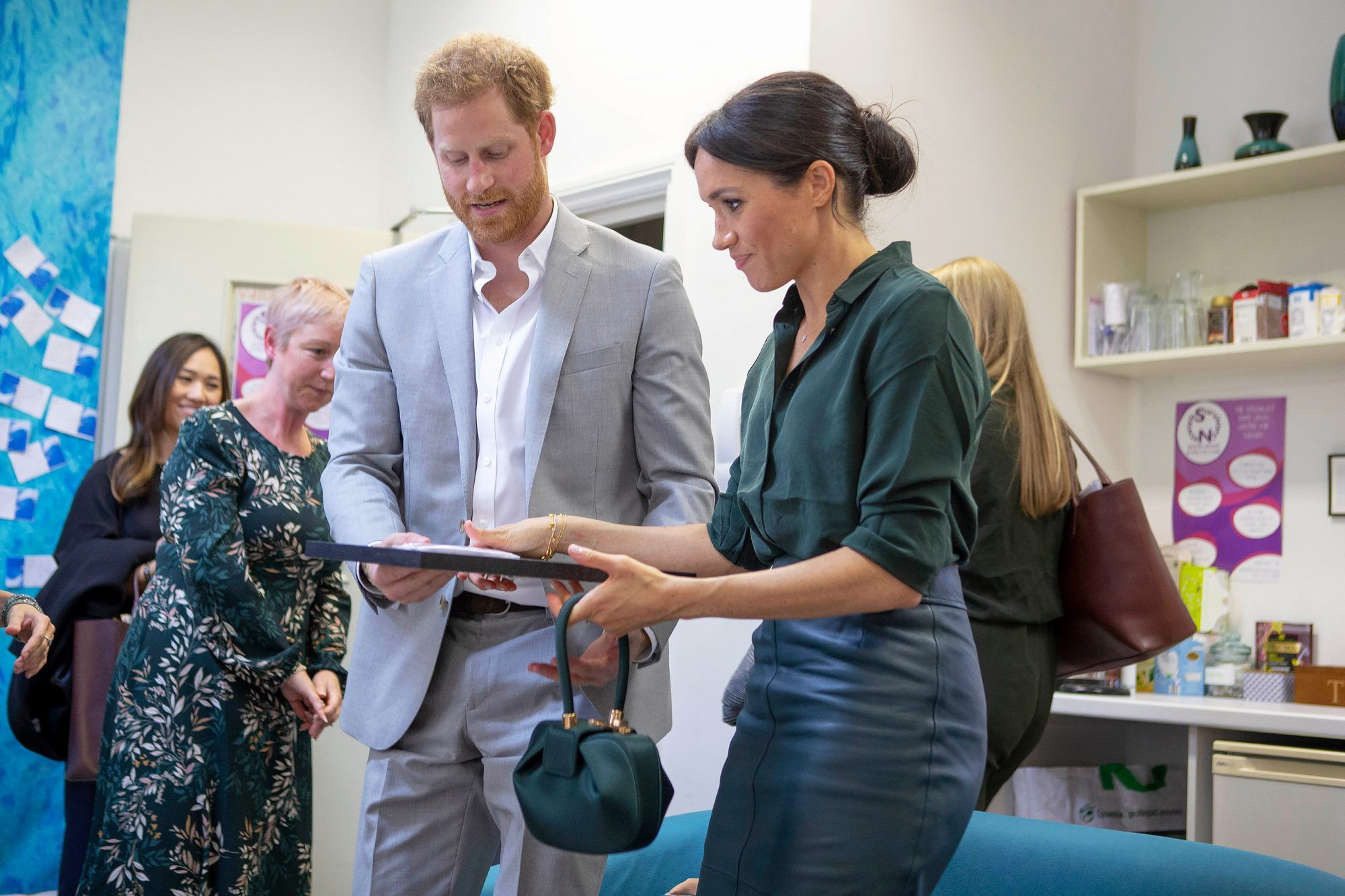Prince Harry and Meghan Duchess of Sussex visit to Sussex, UK - 03 Oct 2018