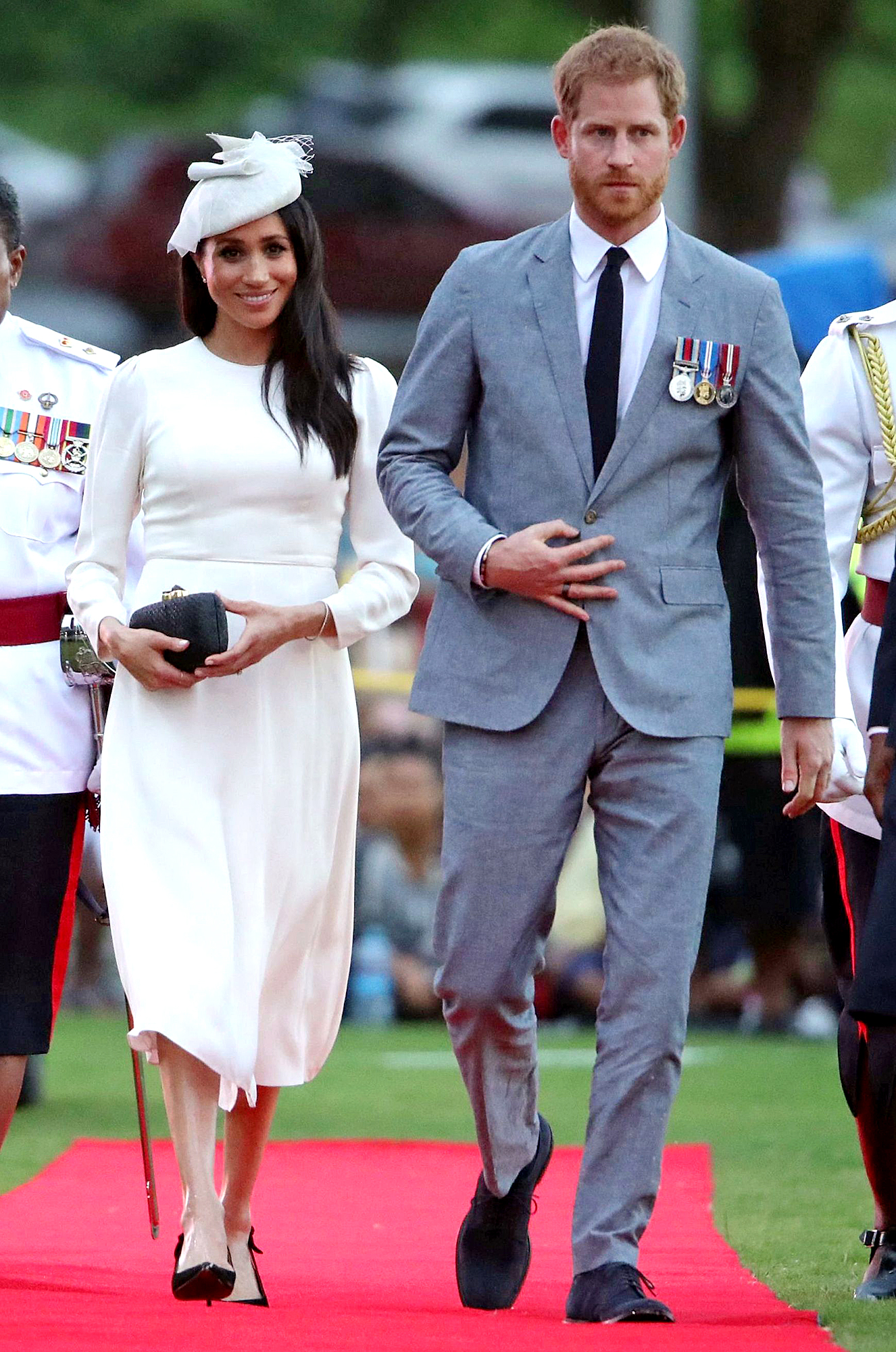 Prince Harry and Meghan Duchess of Sussex tour of Fiji - 23 Oct 2018