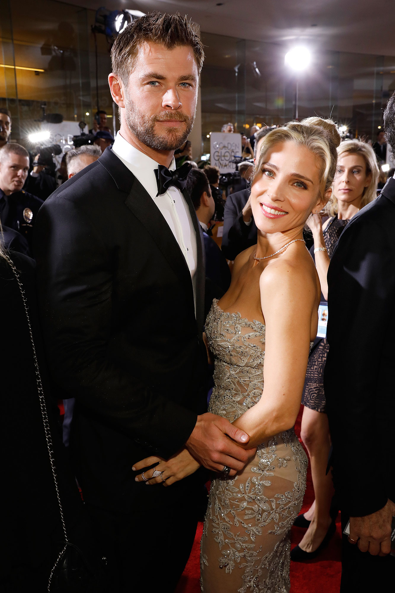CHRIS HEMSWORTH ON ELSA PATAKY
