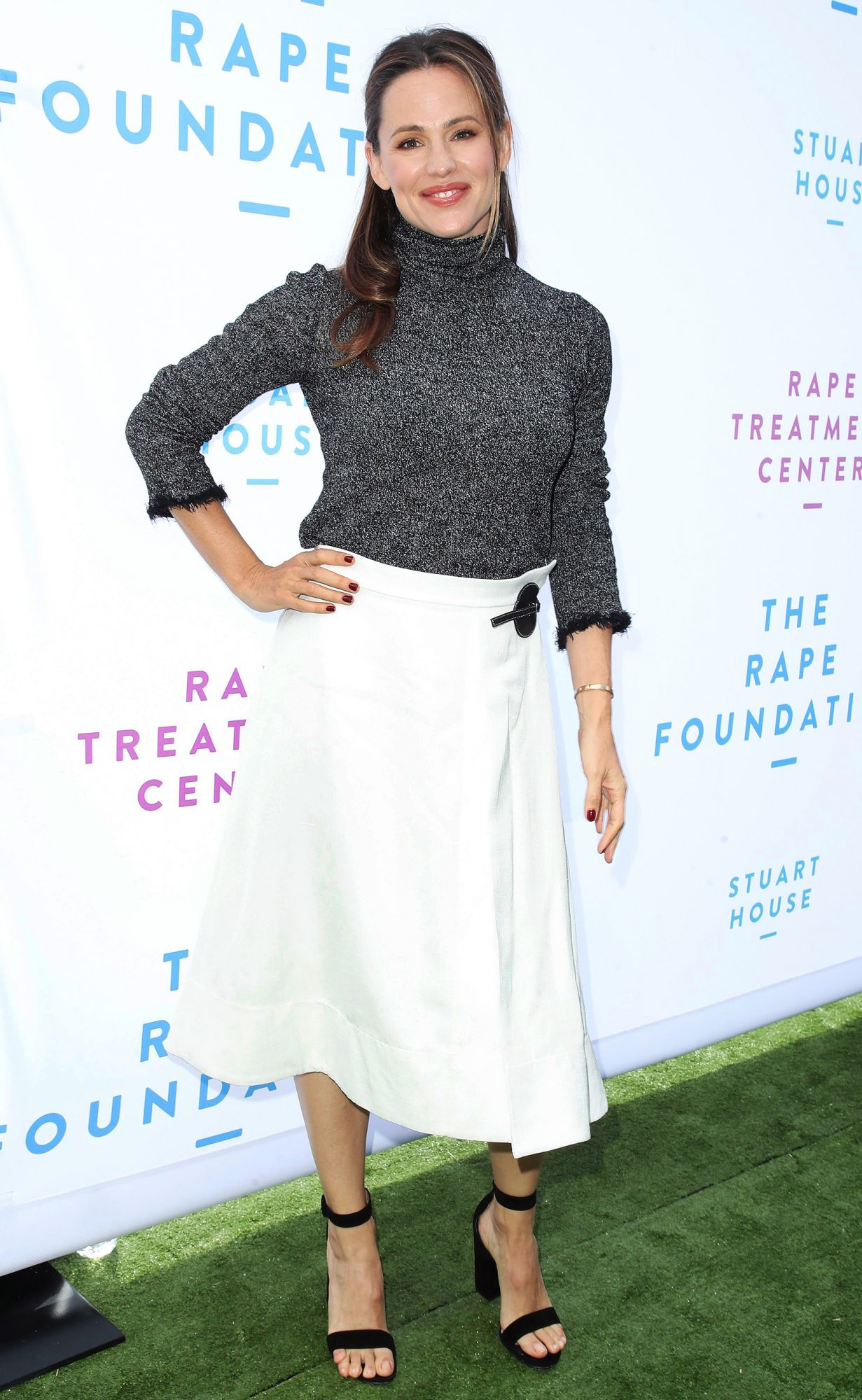 The Rape Foundation Annual Brunch, Arrivals, Los Angeles, USA - 07 Oct 2018