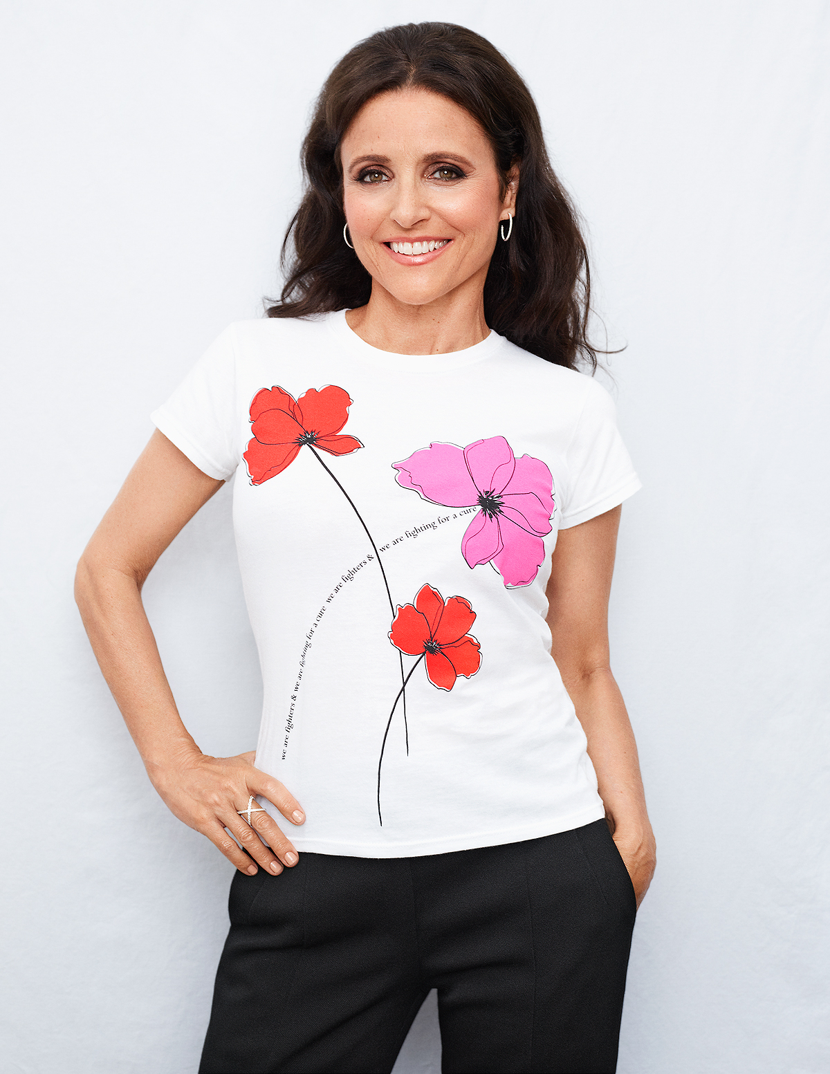 Carolina Herrera Key to the Cure Tee
