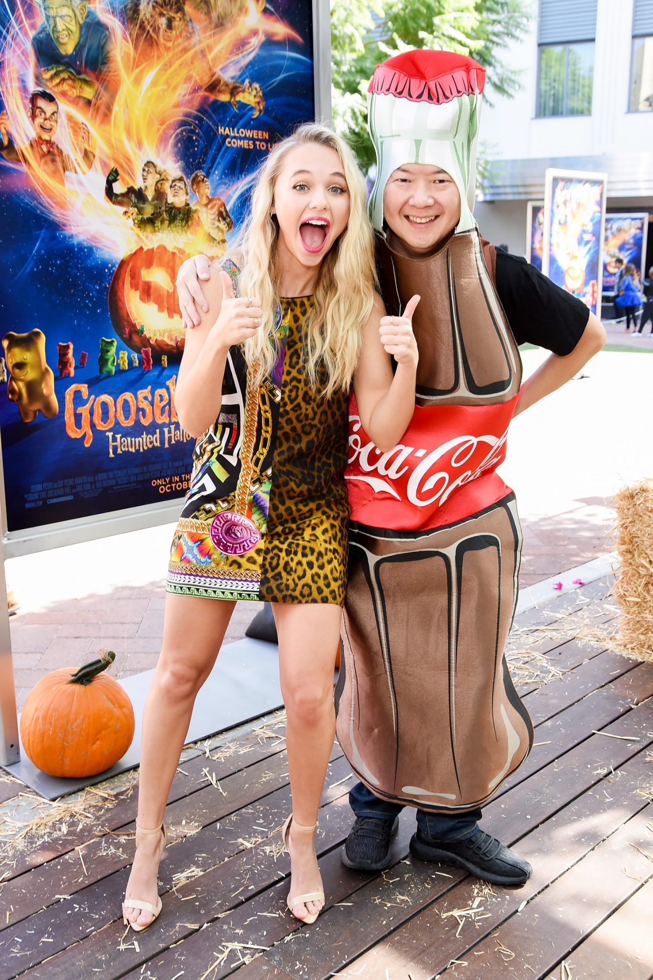 """Columbia Pictures And Sony Pictures Animation's """"Goosebumps 2: Haunted Halloween"""" Special Screening - Red Carpet"""