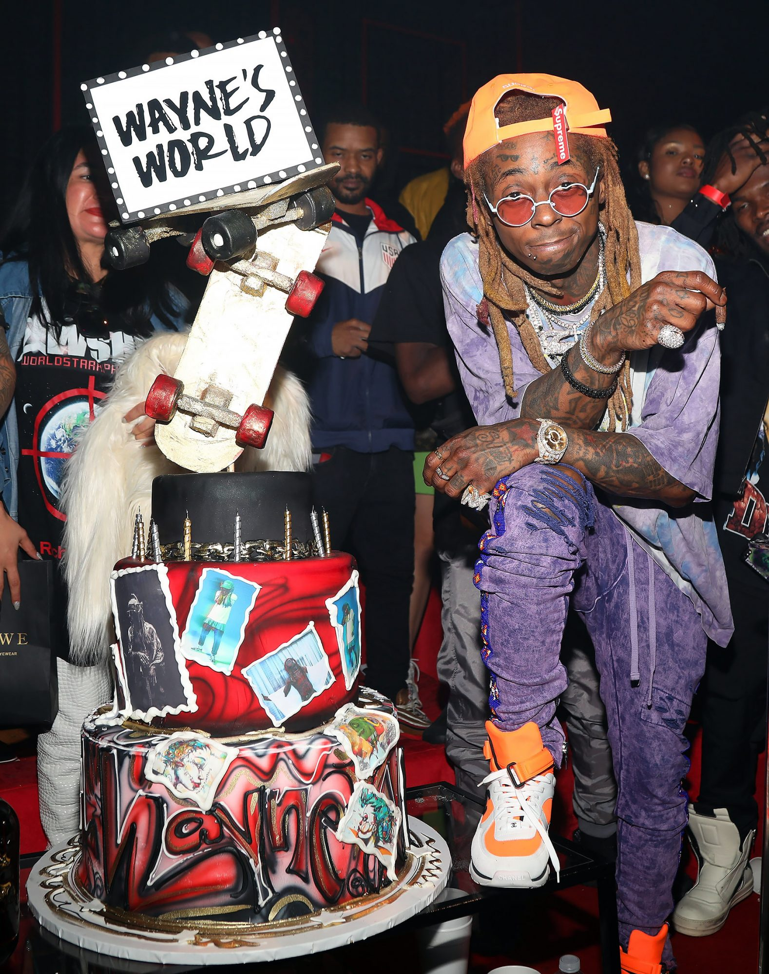 Lil Wayne 36th Birthday Party/Carter V Release Party