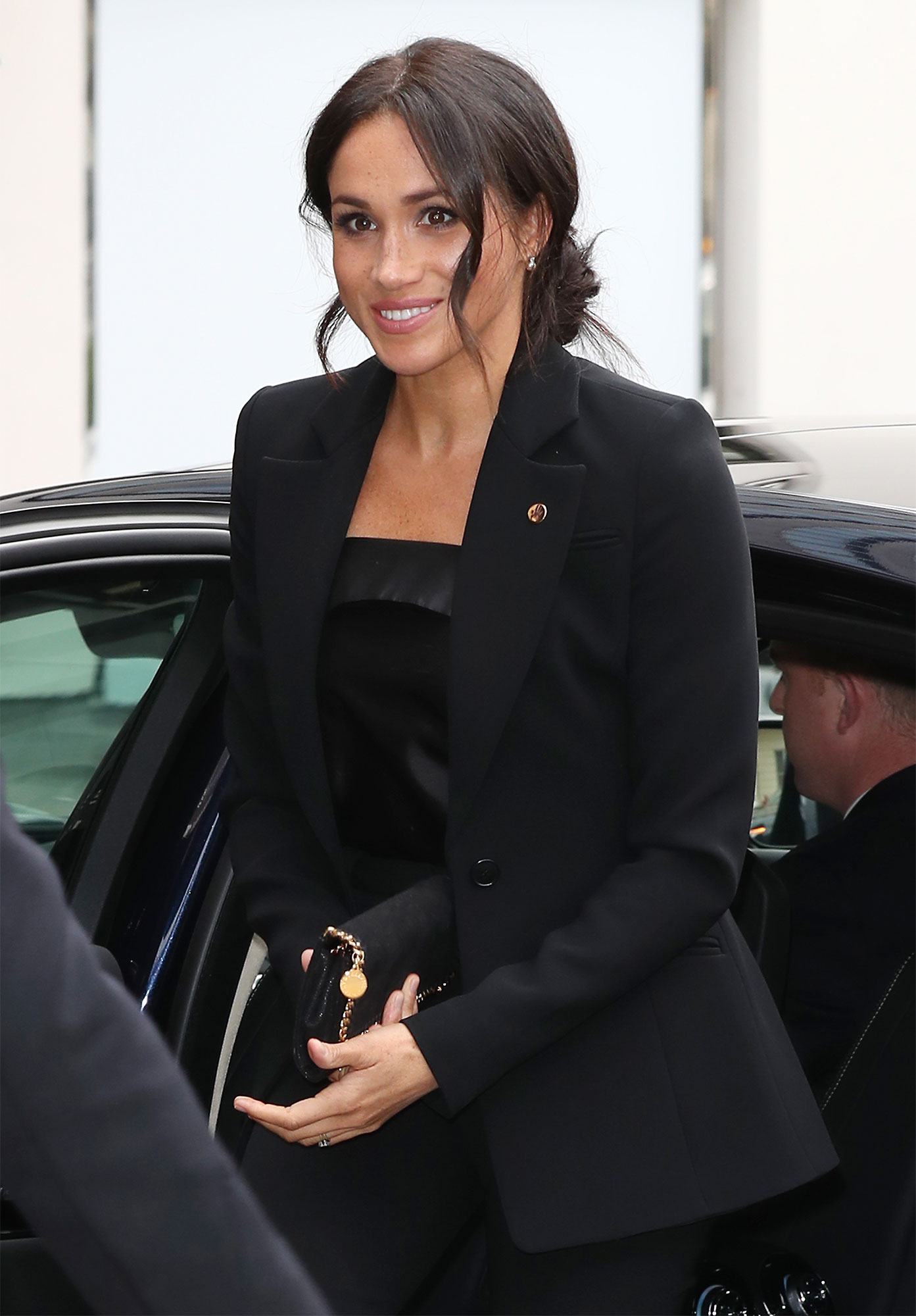 MEGHAN'S CAREFUL PURSE PLACEMENT
