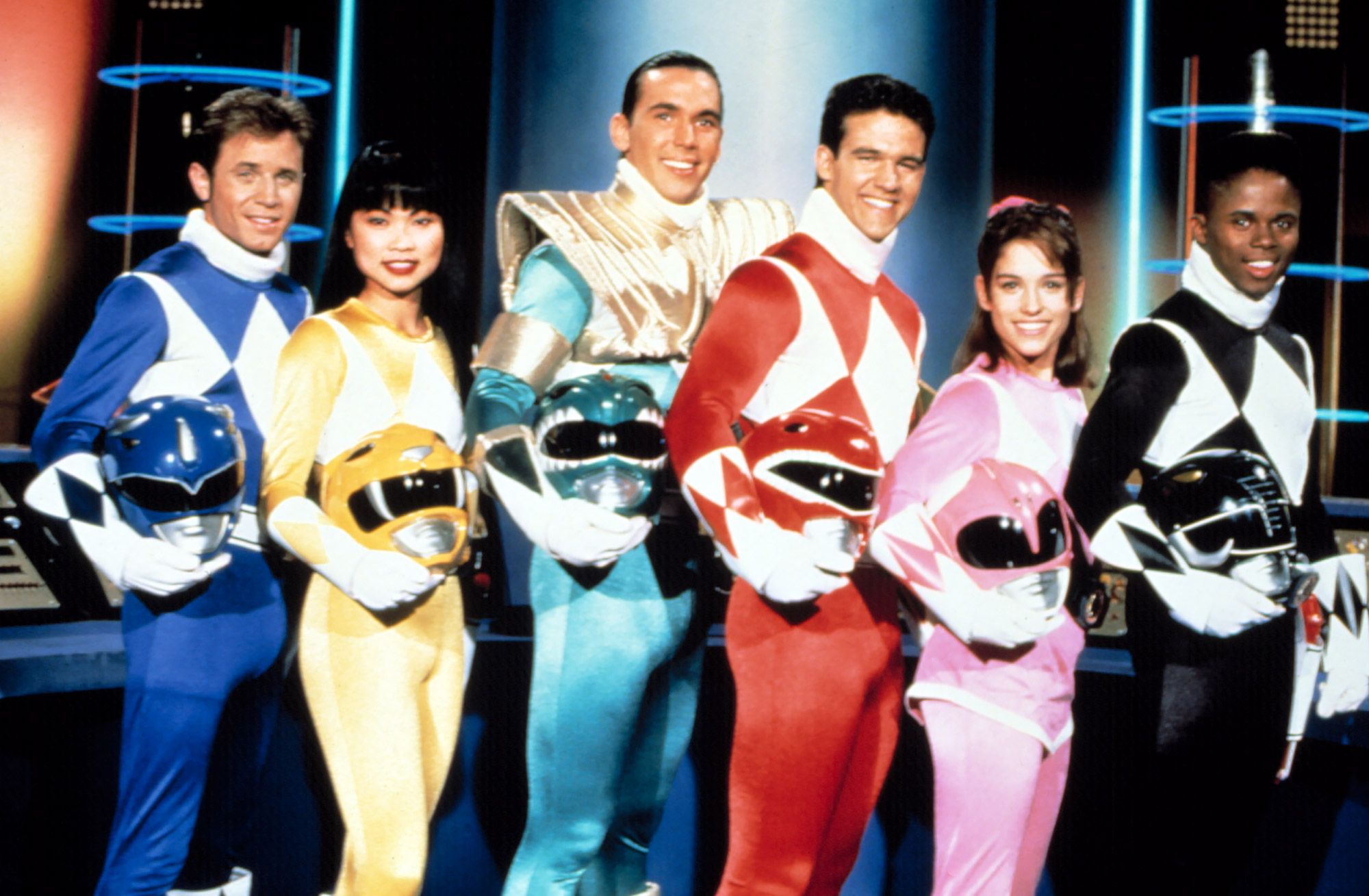 MIGHTY MORPHIN' POWER RANGERS, David Yost, Thuy Trang, Jason David Frank, Austin St. John, Amy Jo Jo