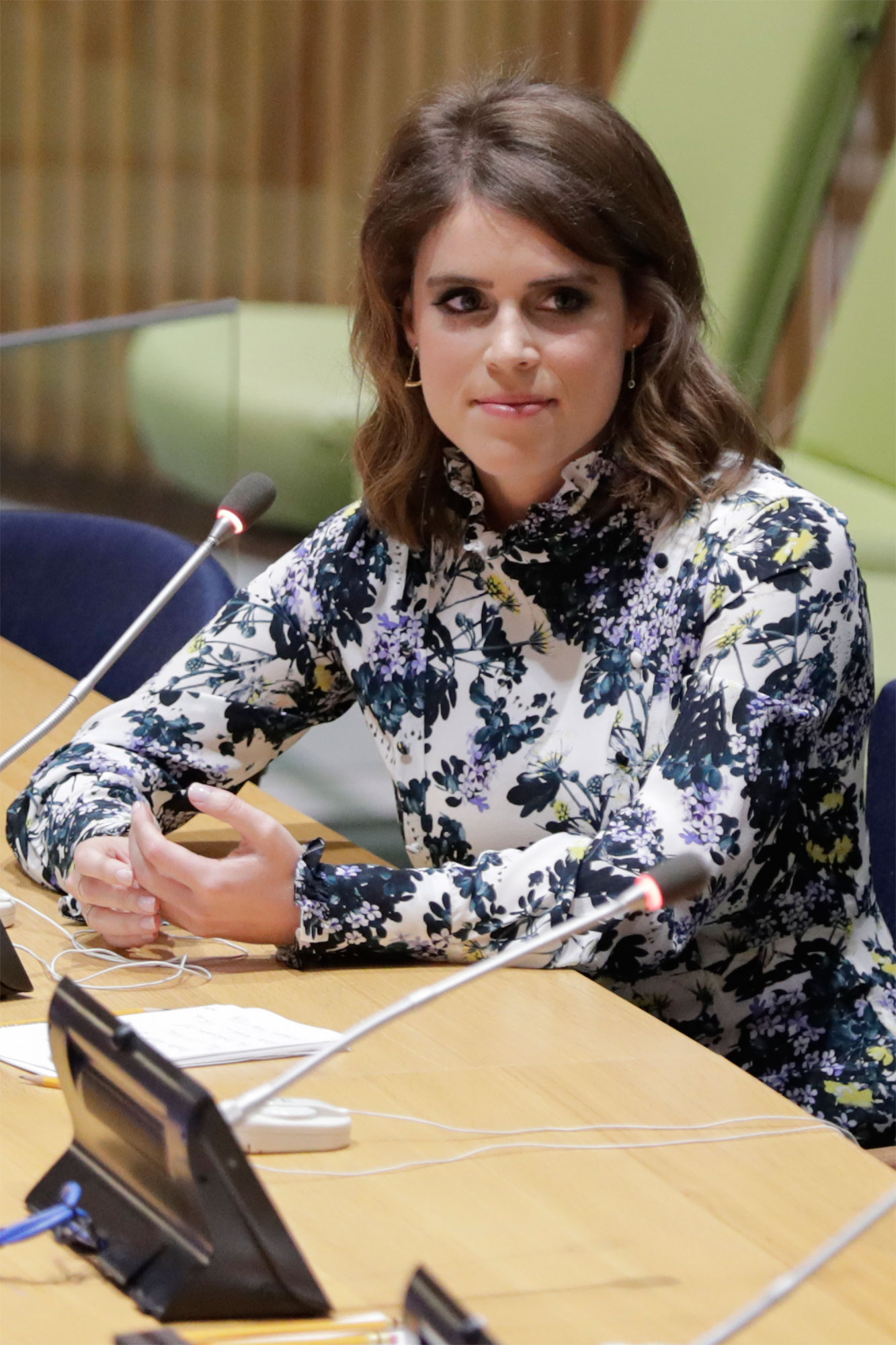 Princess Eugenie of York at UN to Help Abolishing Modern Slavery