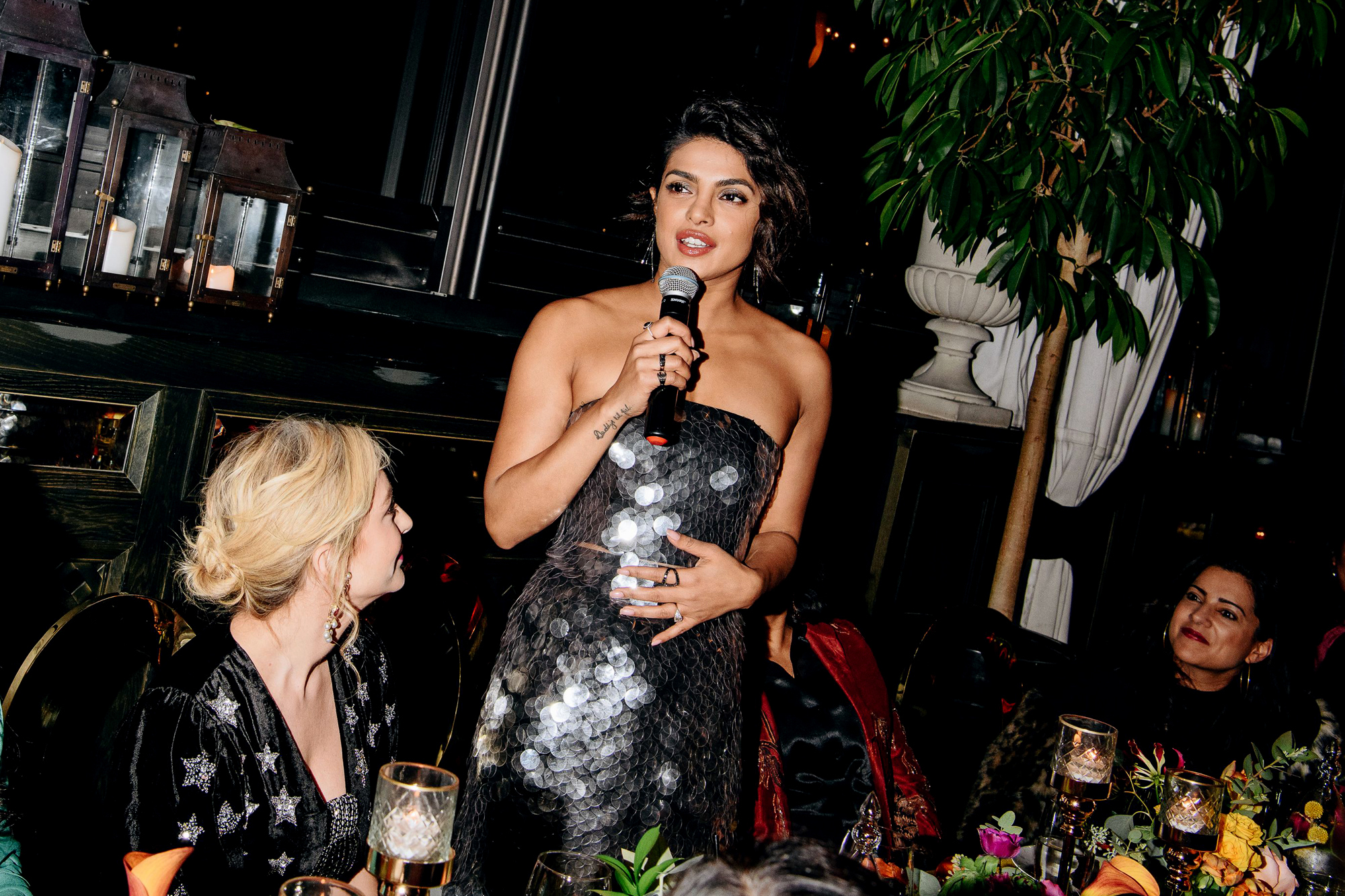 Bumble India Dinner, Gramercy Park Hotel Rooftop, New York, USA - 29 Oct 2018