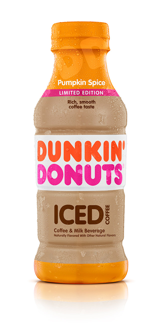 DUNKIN' DONUTS PUMPKIN SPICE ICED COFFEE