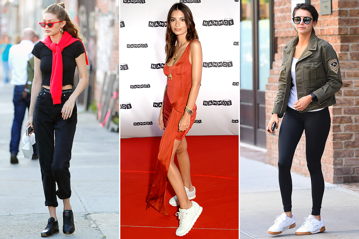 idioma Formación Espectacular  The Best Sneakers to Buy at Reebok - Celebrities Wearing Reebok | PEOPLE.com