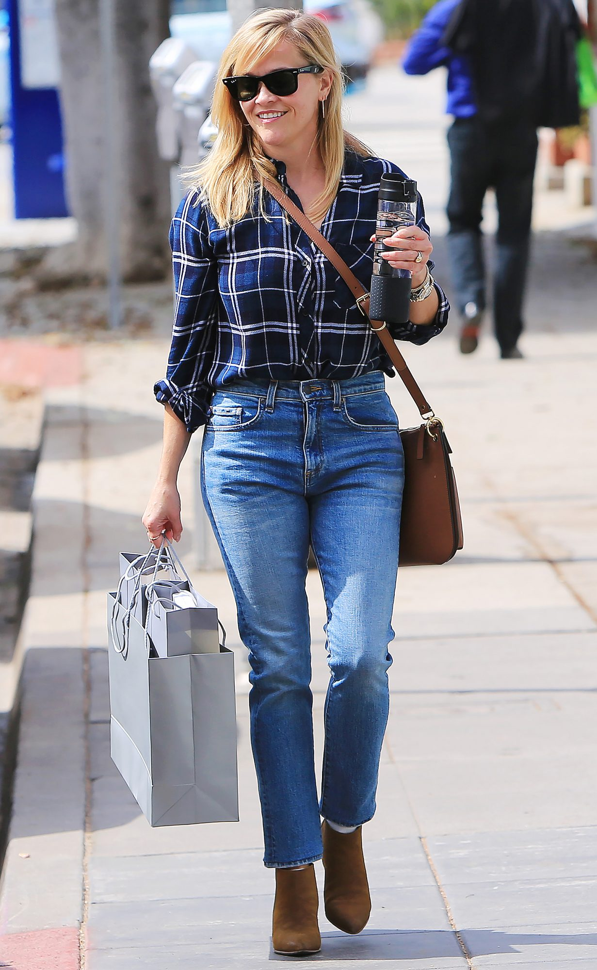 Reese Witherspoon out and about, Los Angeles, USA - 03 Oct 2018