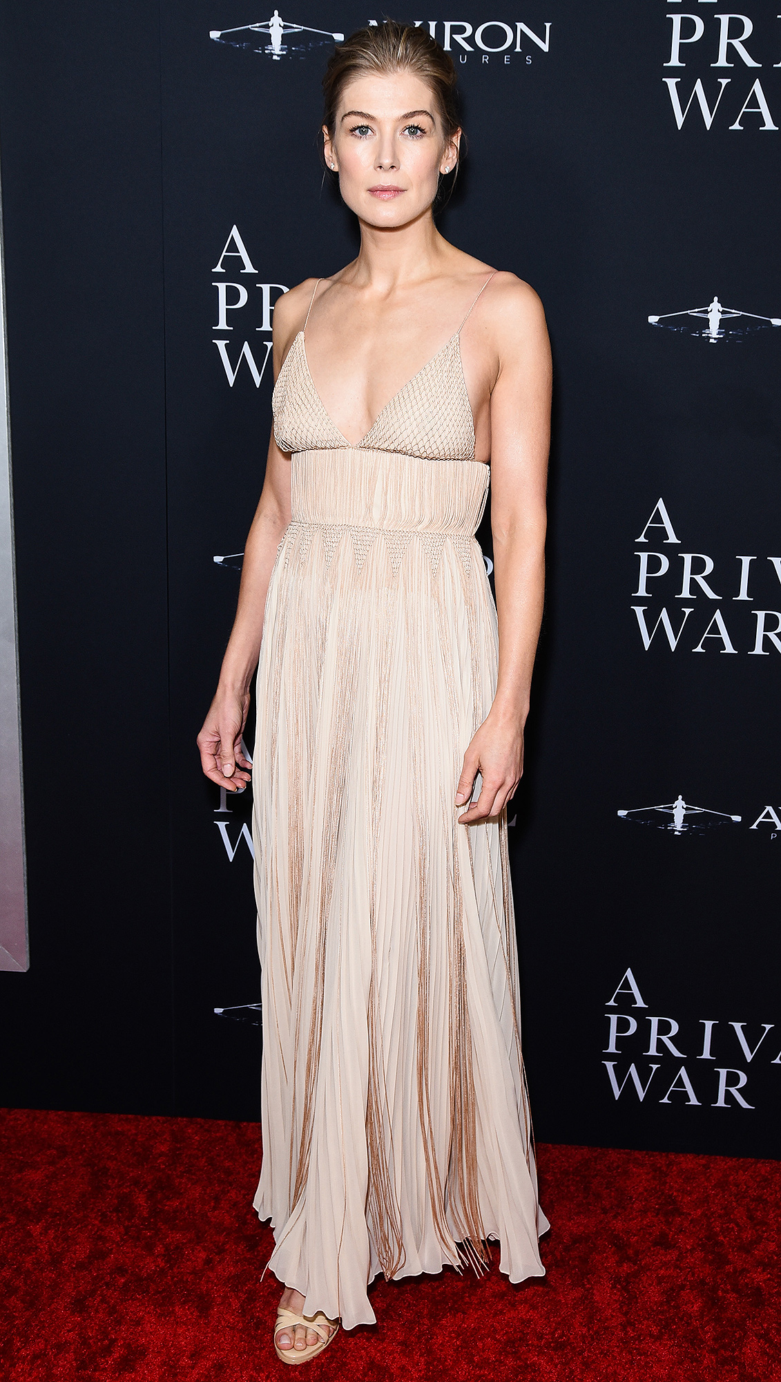 """Aviron Pictures' Los Angeles Premiere Of """"A Private War"""" - Arrivals"""