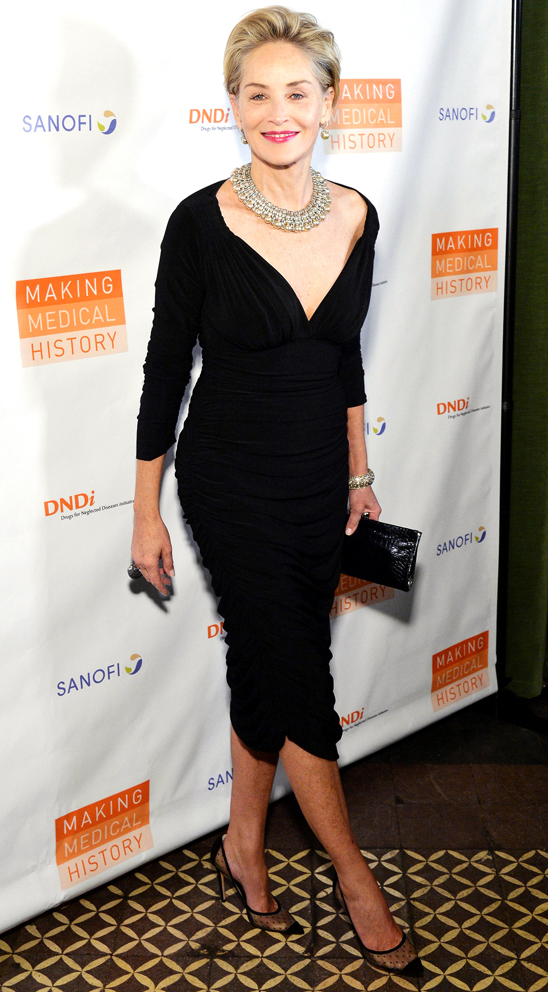 Drugs for Neglected Diseases Initiative gala, Arrivals, New York, USA - 24 Oct 2018