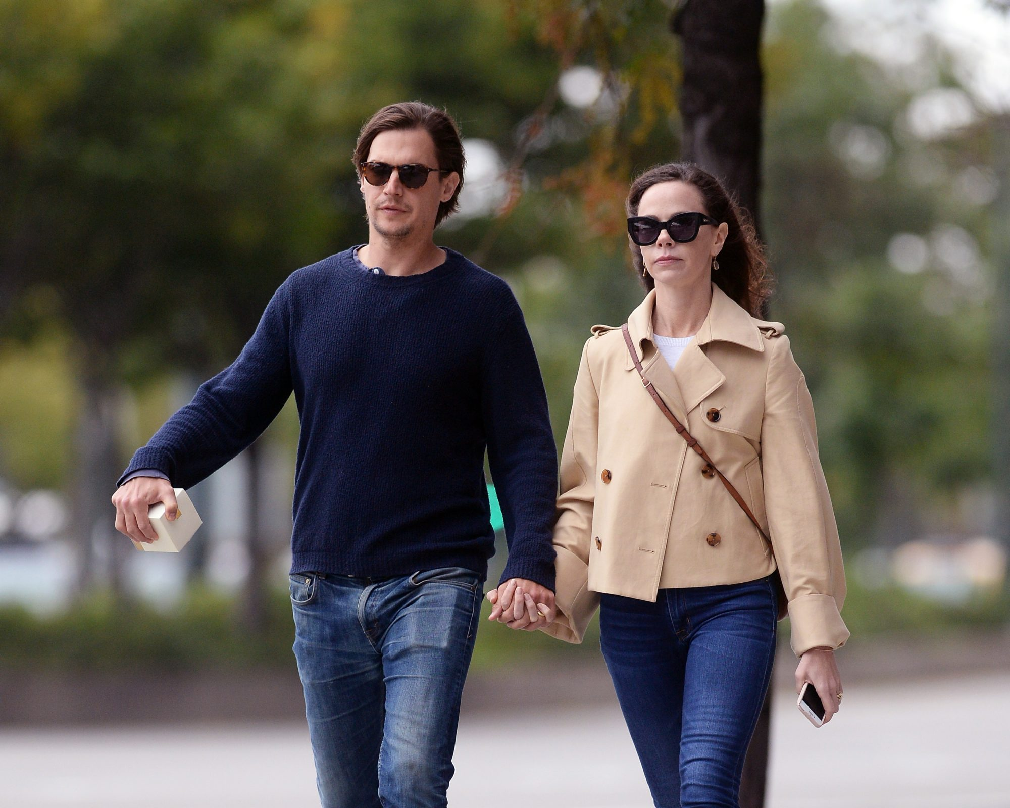 EXCLUSIVE: Barbara Bush and her husband Craig Coyne apartment hunting while holding hands in New York City