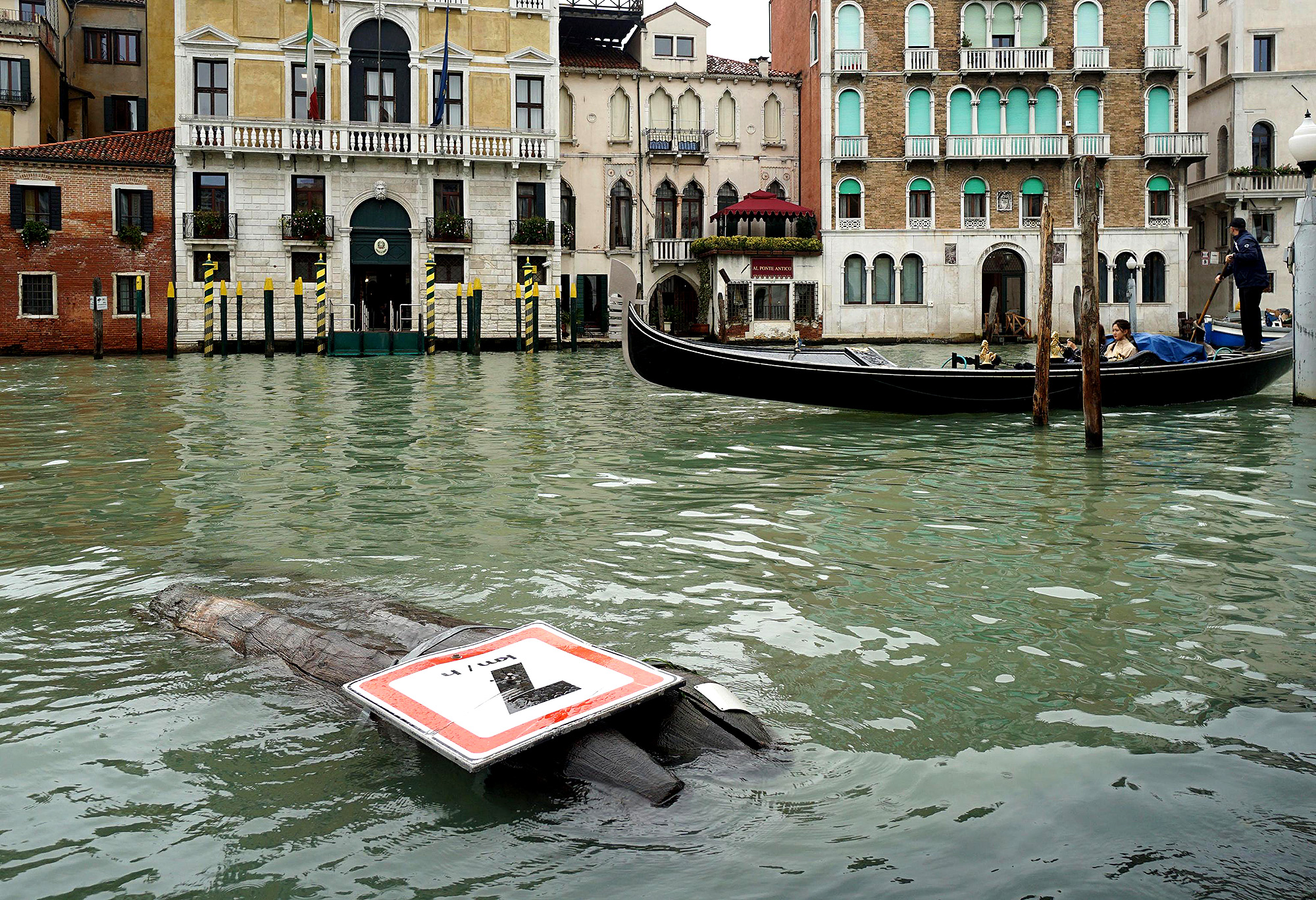 Flood in Venice aftermath, Italy - 30 Oct 2018