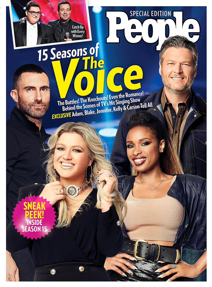 15 seasons of the Voice People book
