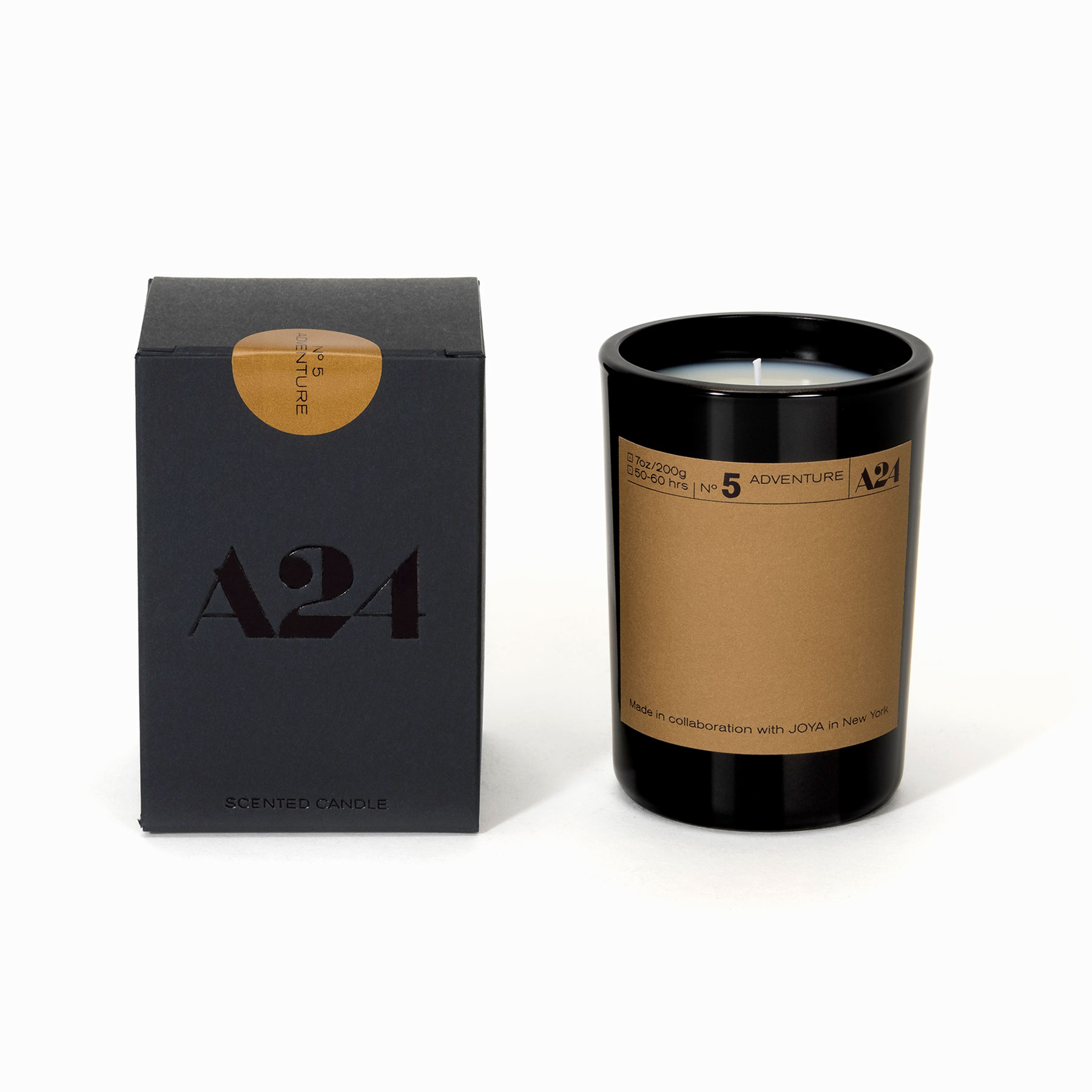 For the Netflix Binge-Watcher: A24 x Joya Genre Candle
